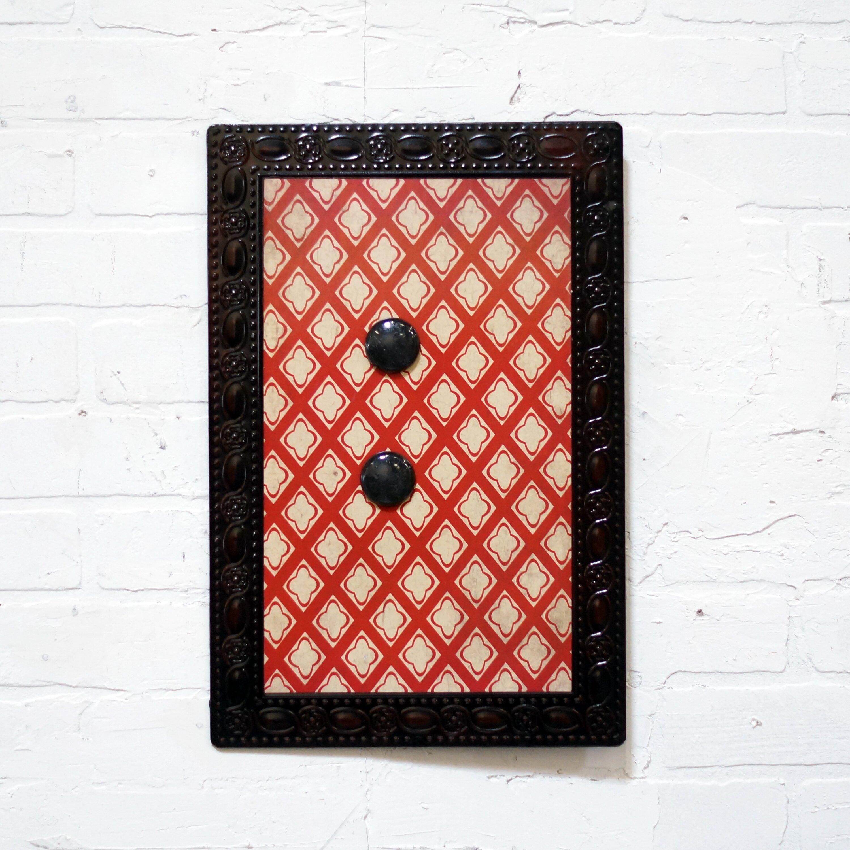 american mercantile metal magnet memo board wayfair. Black Bedroom Furniture Sets. Home Design Ideas