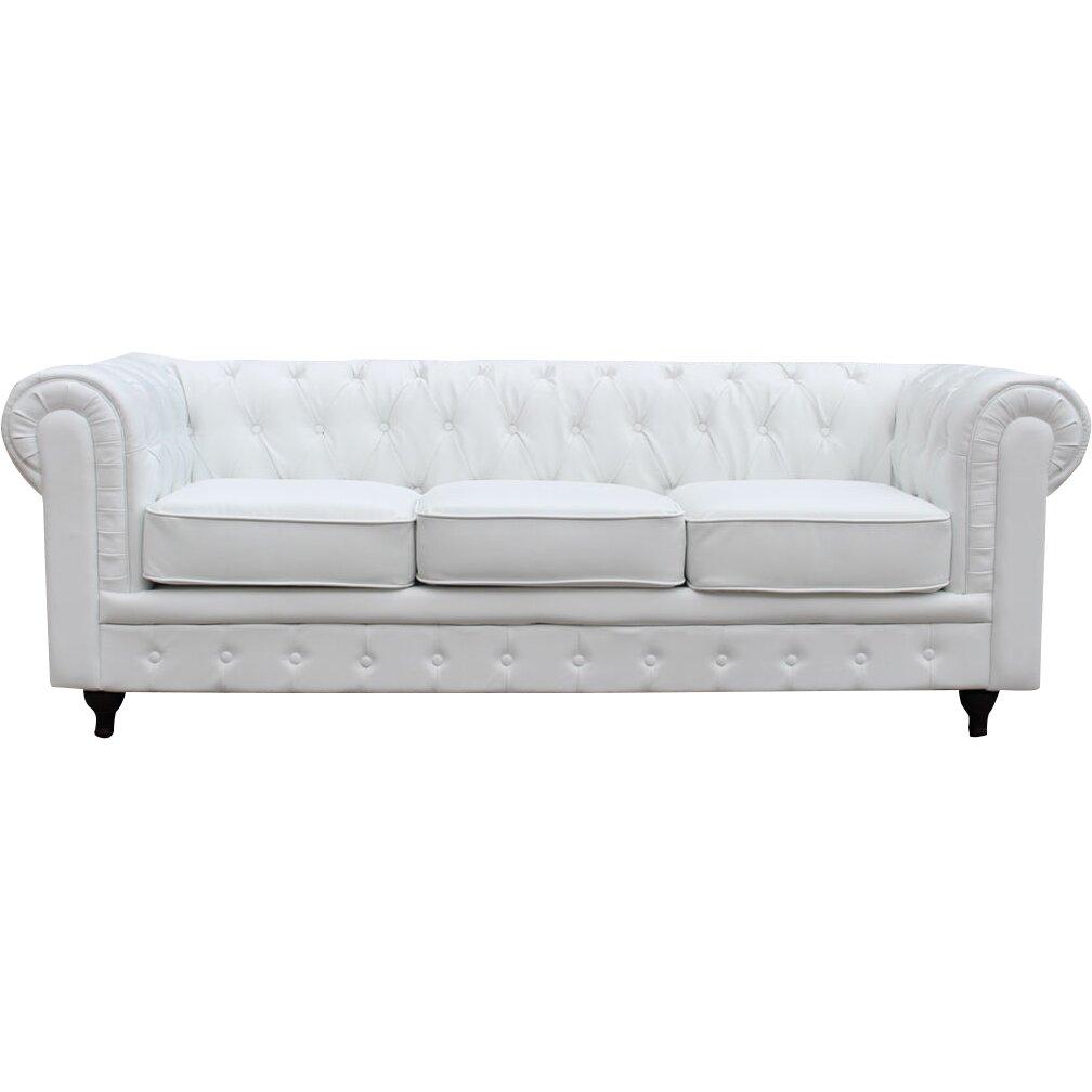 Madison home usa chesterfield sofa reviews wayfair for Buy sofa online usa