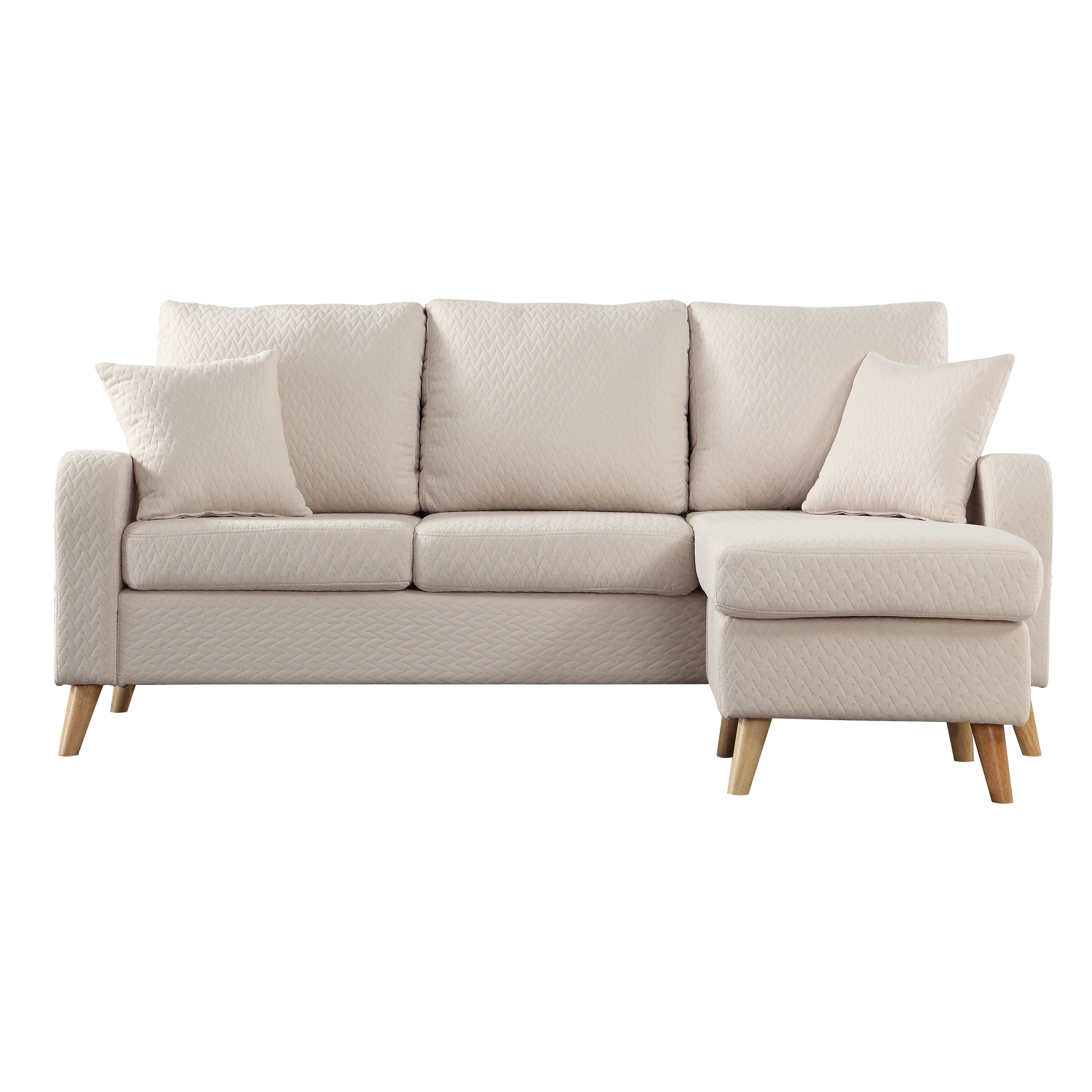 Madison home usa reversible chaise sectional reviews for Buy sofa online usa