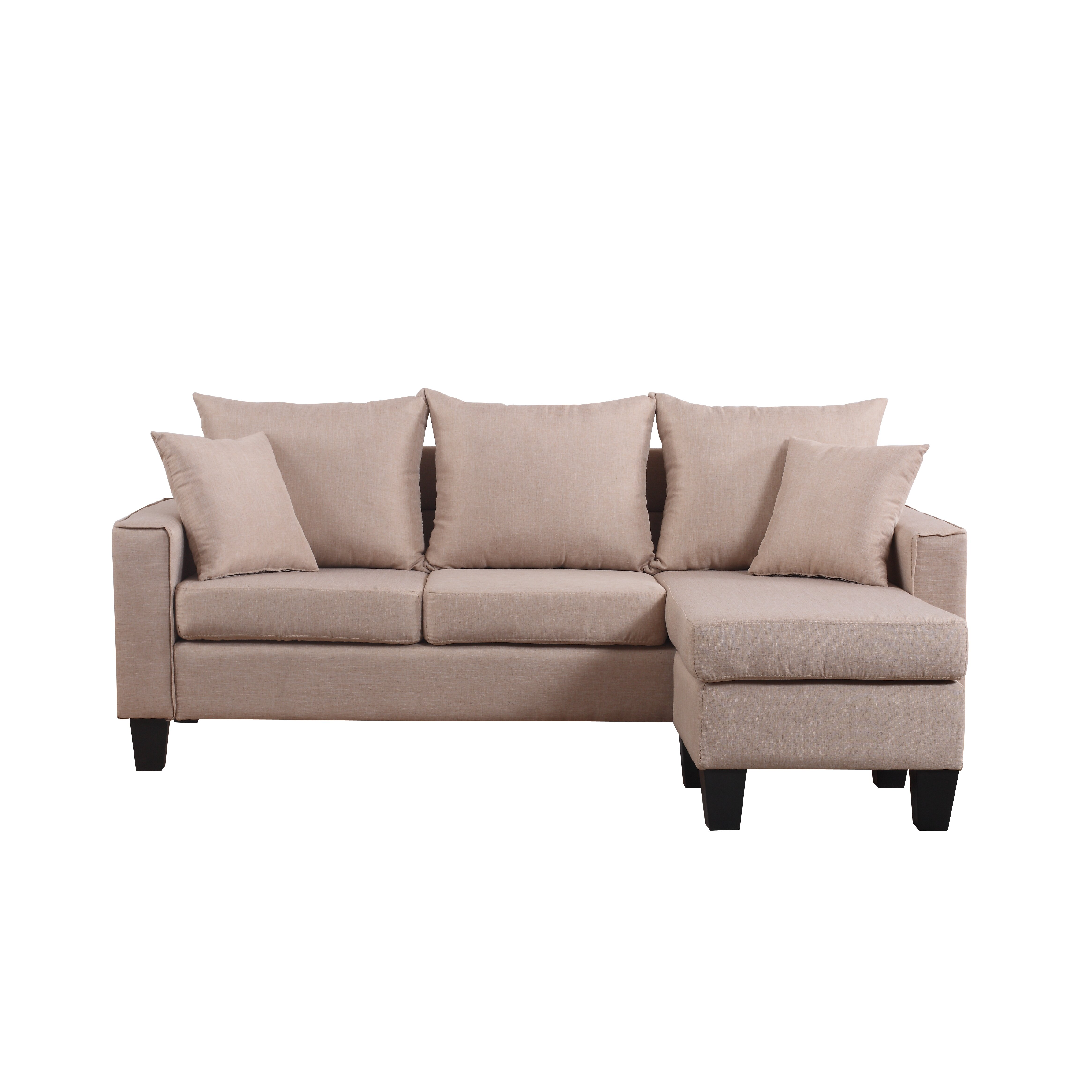 Madison Home Usa Reversible Chaise Sectional Reviews Wayfair