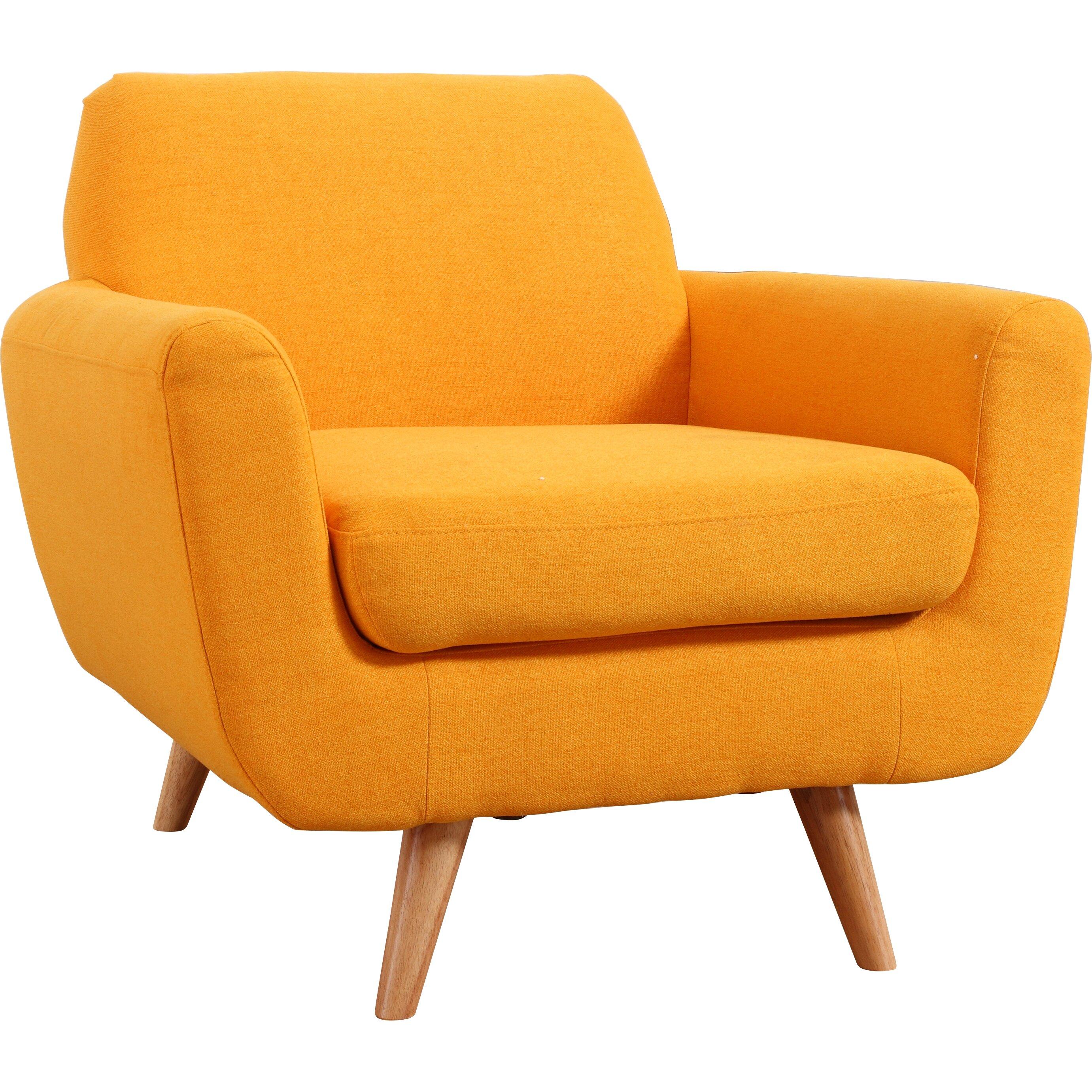 Midcentury Modern Armchair: Madison Home USA Mid-Century Modern Accent Armchair