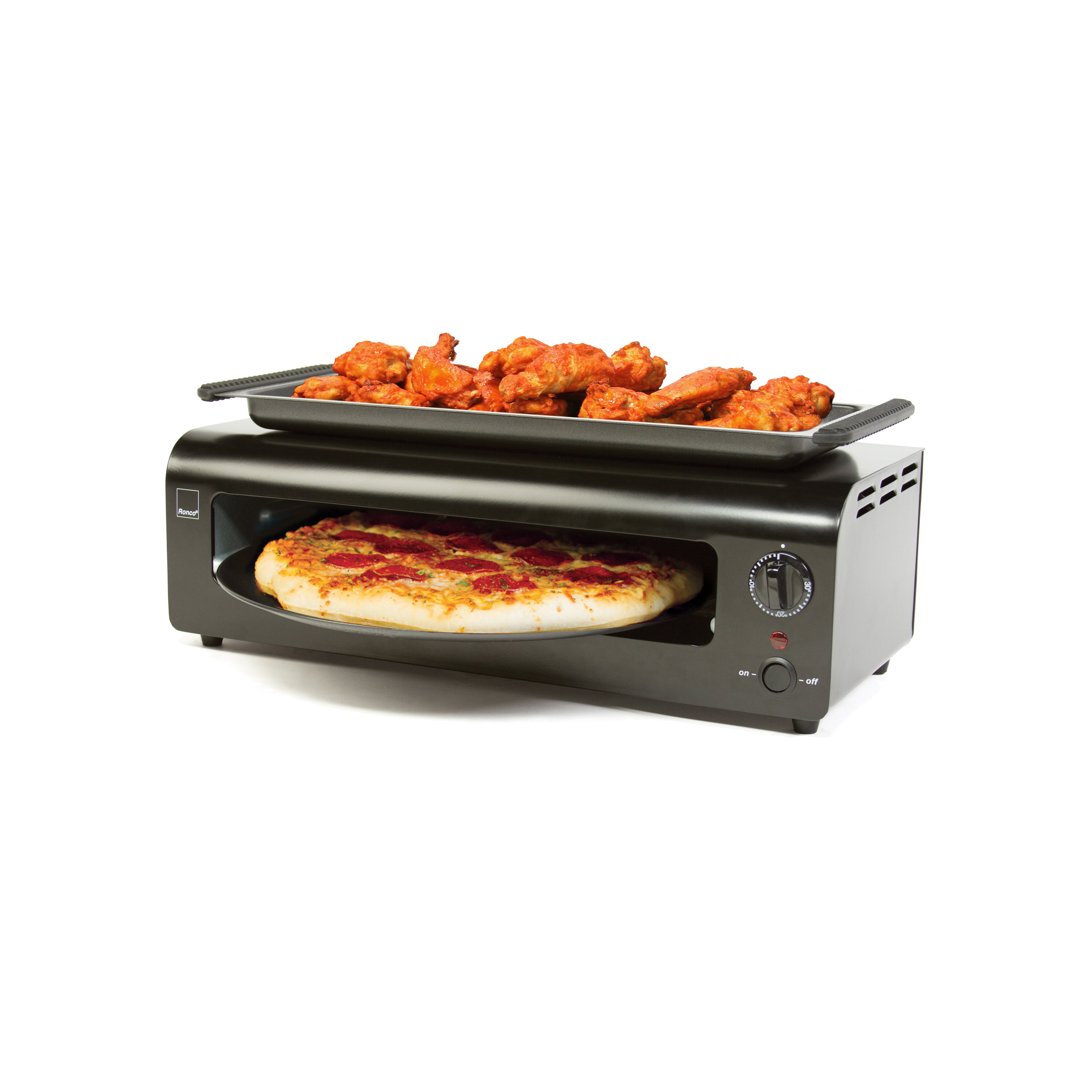 Ronco Pizza and More Toaster Oven & Reviews Wayfair