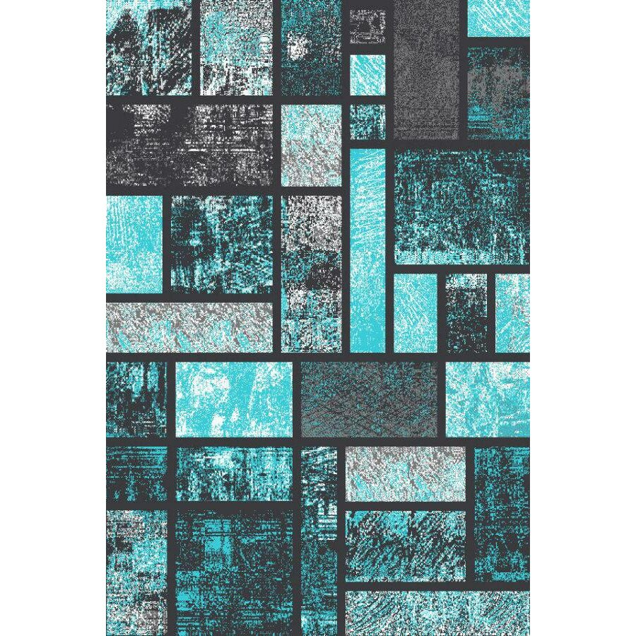 Turquoise Kitchen Rugs New Rug In The: Persian-rugs Tobis Modern Turquoise Area Rug & Reviews