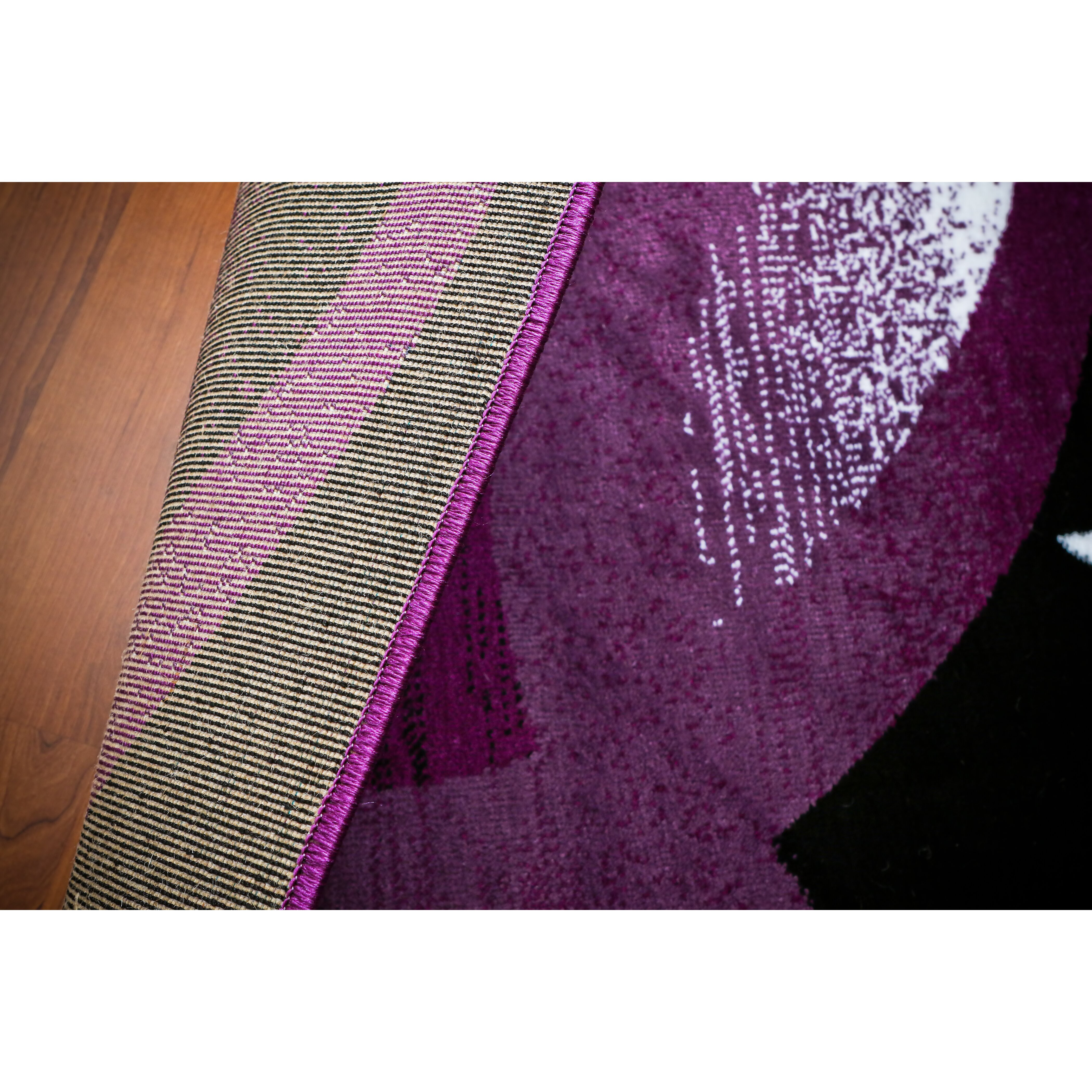 Persian-rugs Tobis Abstract Purple Area Rug & Reviews