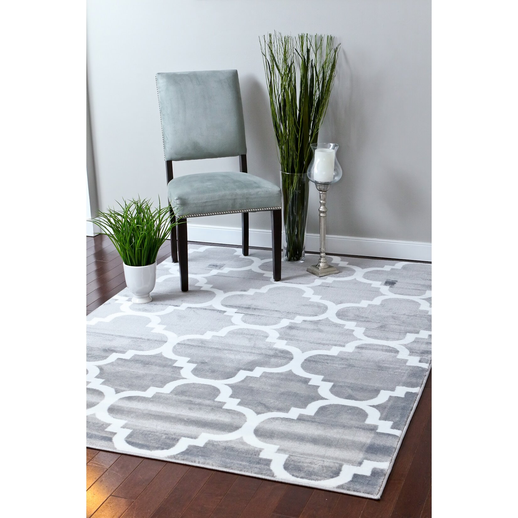 Persian-rugs Gray Area Rug & Reviews