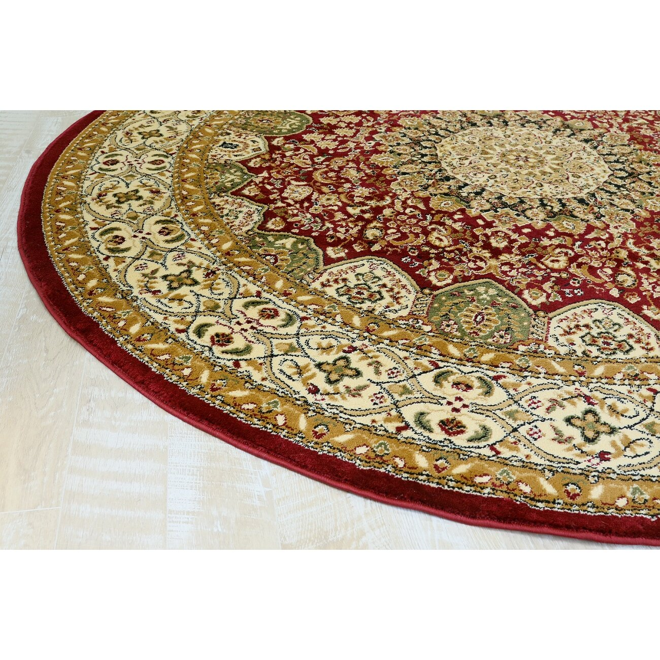 Persian-rugs Red Area Rug & Reviews