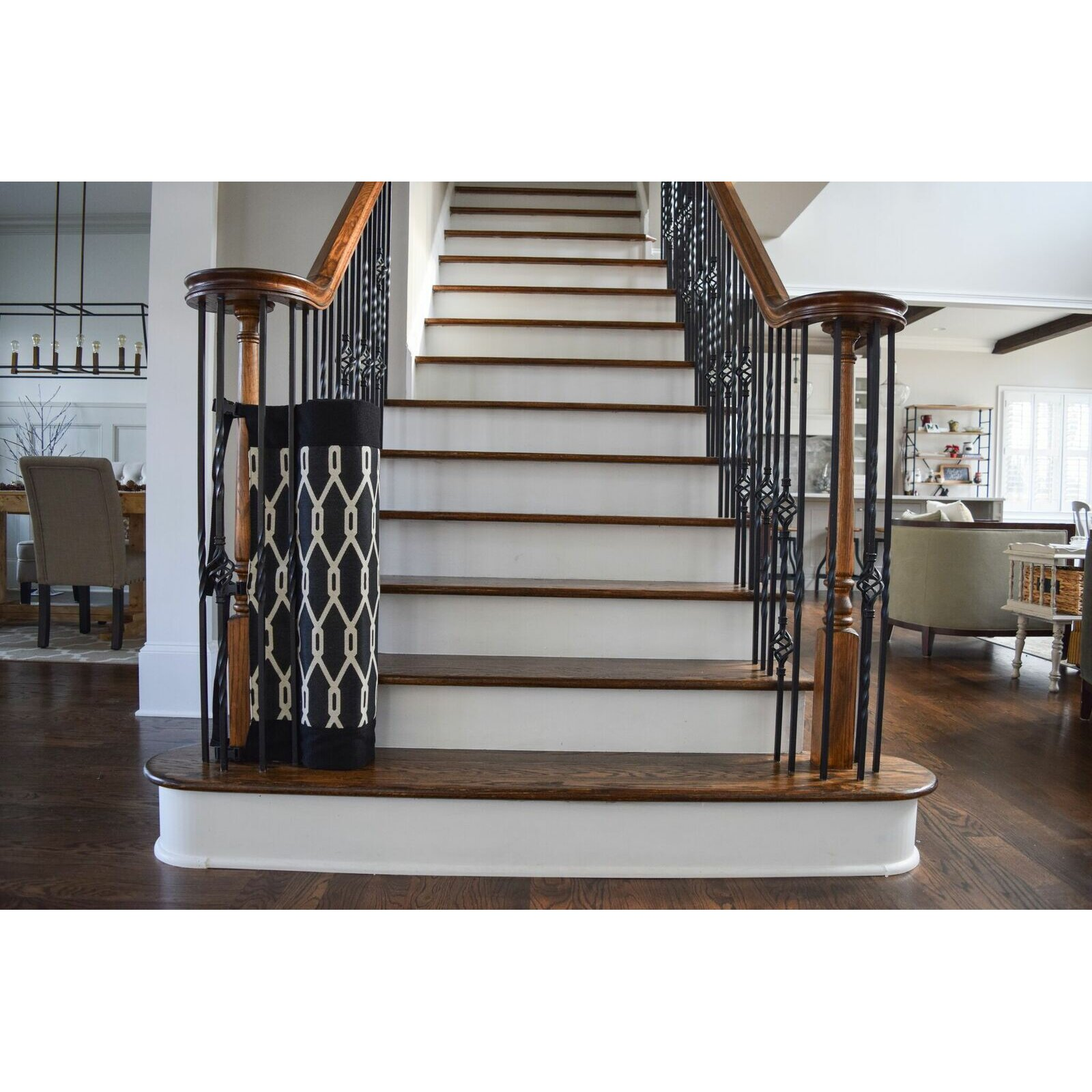 Thestairbarrier Banister To Banister Indoor Outdoor Safety
