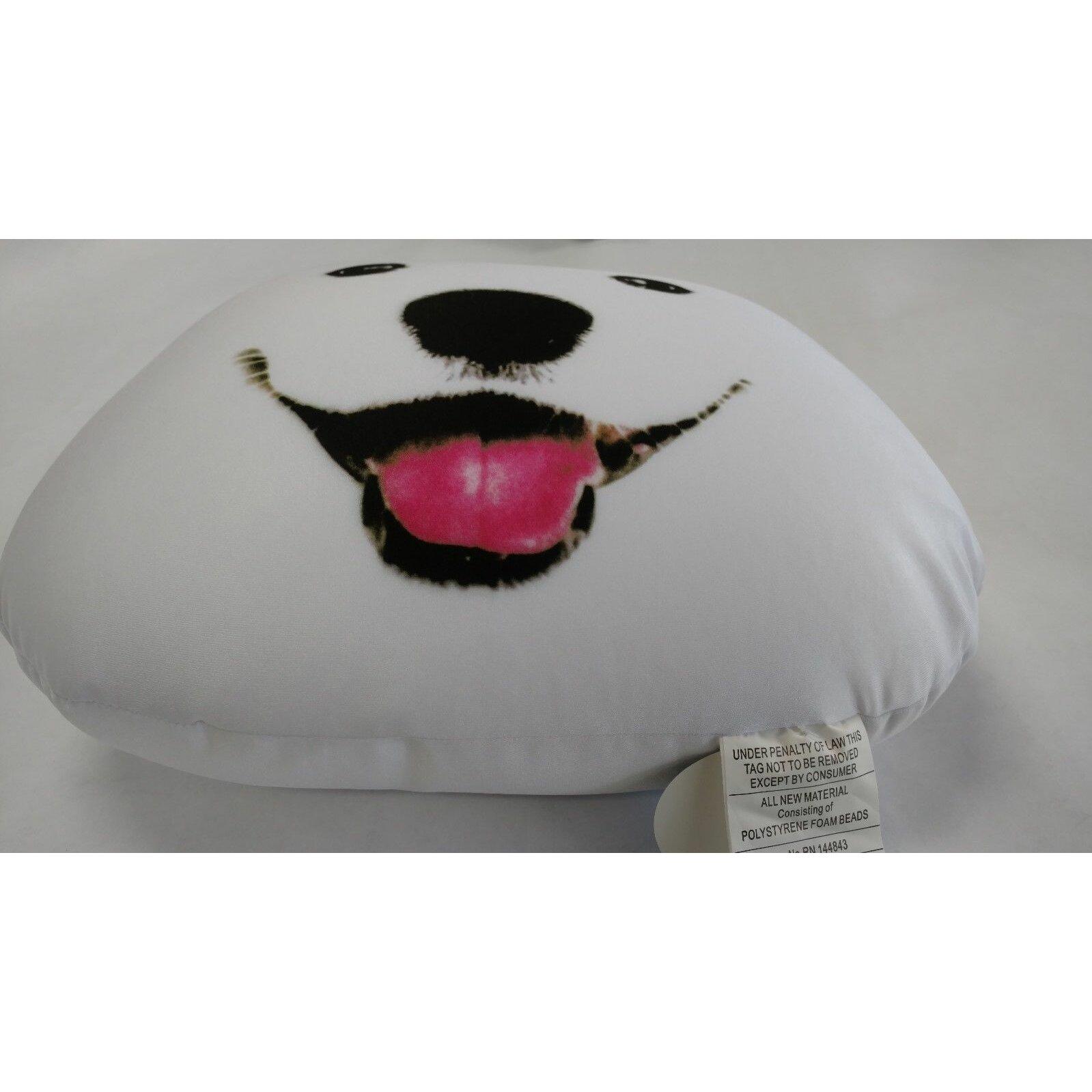 Cute Microbead Pillow : Tache Home Fashion Cute Puppy Dog Microbead Realistic Throw Pillow & Reviews Wayfair