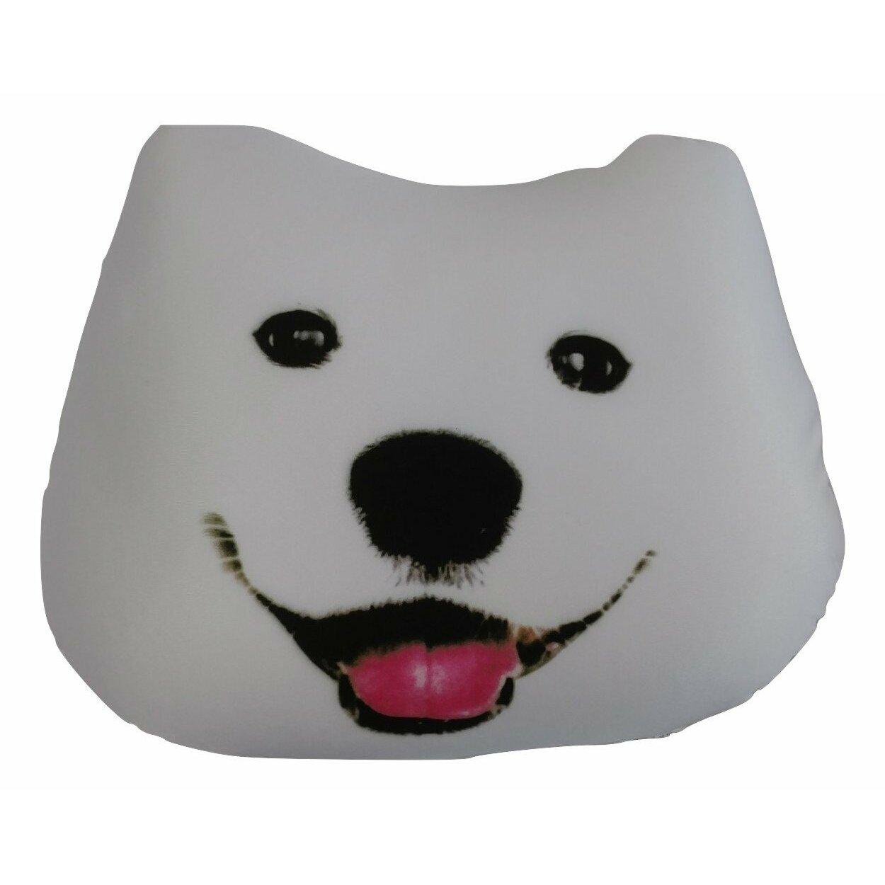 Cute Dog Pillow Beds : Tache Home Fashion Cute Puppy Dog Microbead Realistic Throw Pillow & Reviews Wayfair