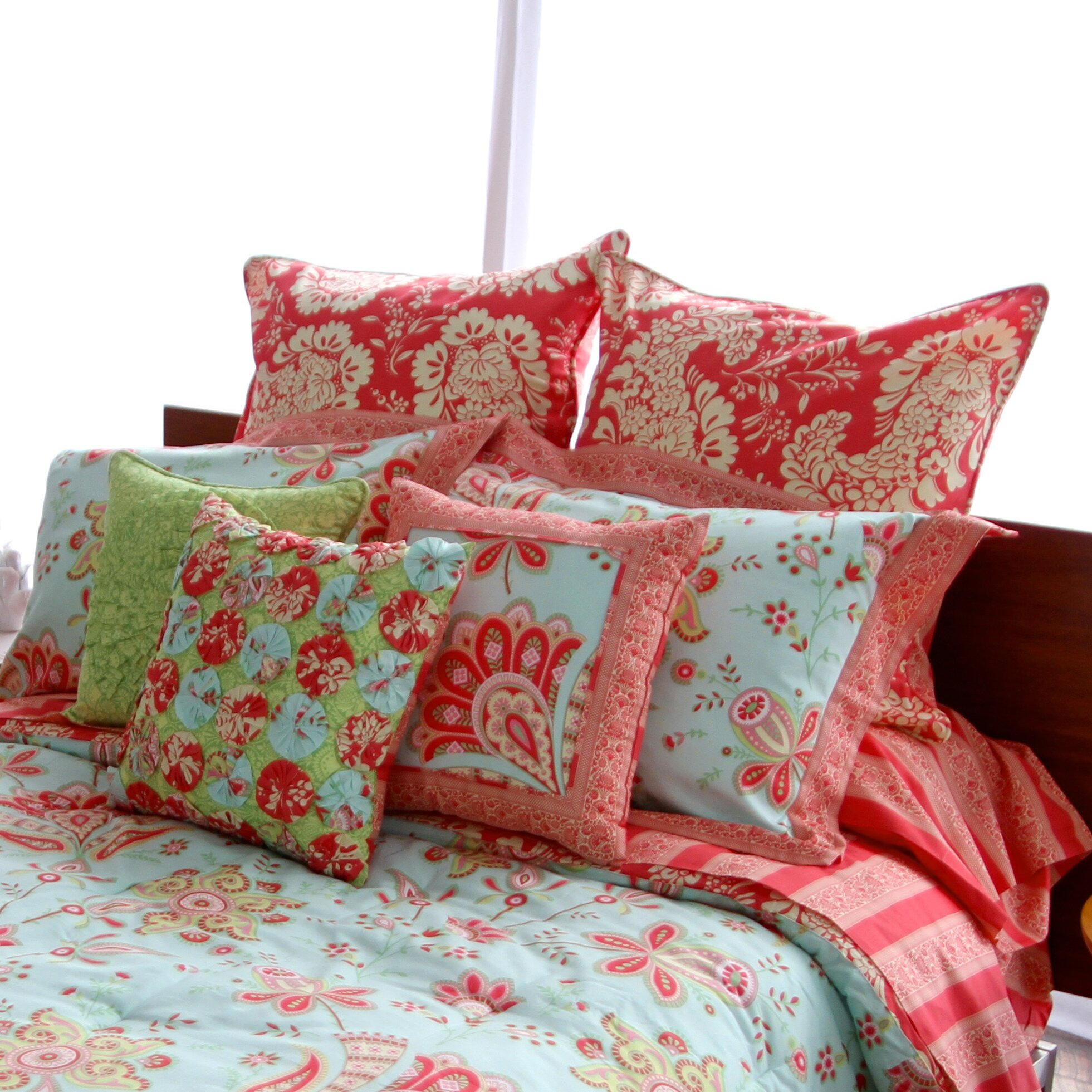 Amy Butler For Welspun Sari Bloom Duvet Cover Collection