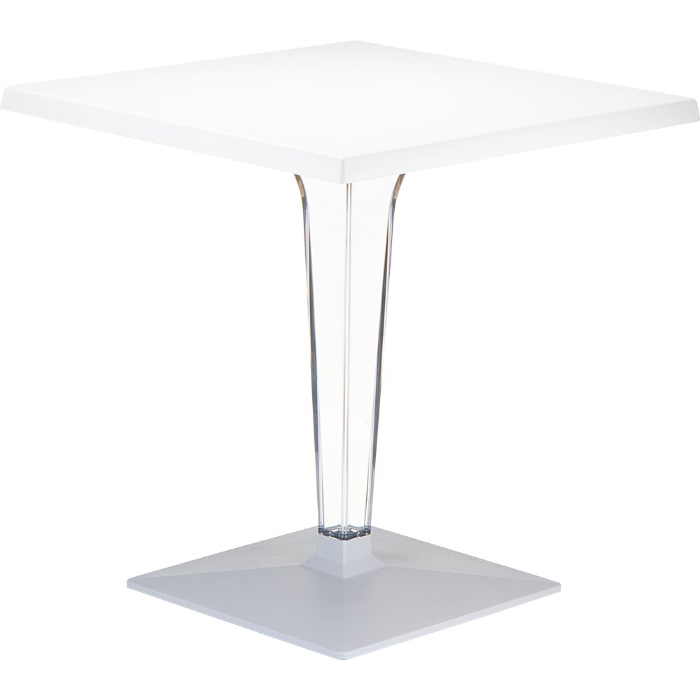 Siesta exclusive ice dining table wayfair for Exclusive dining table
