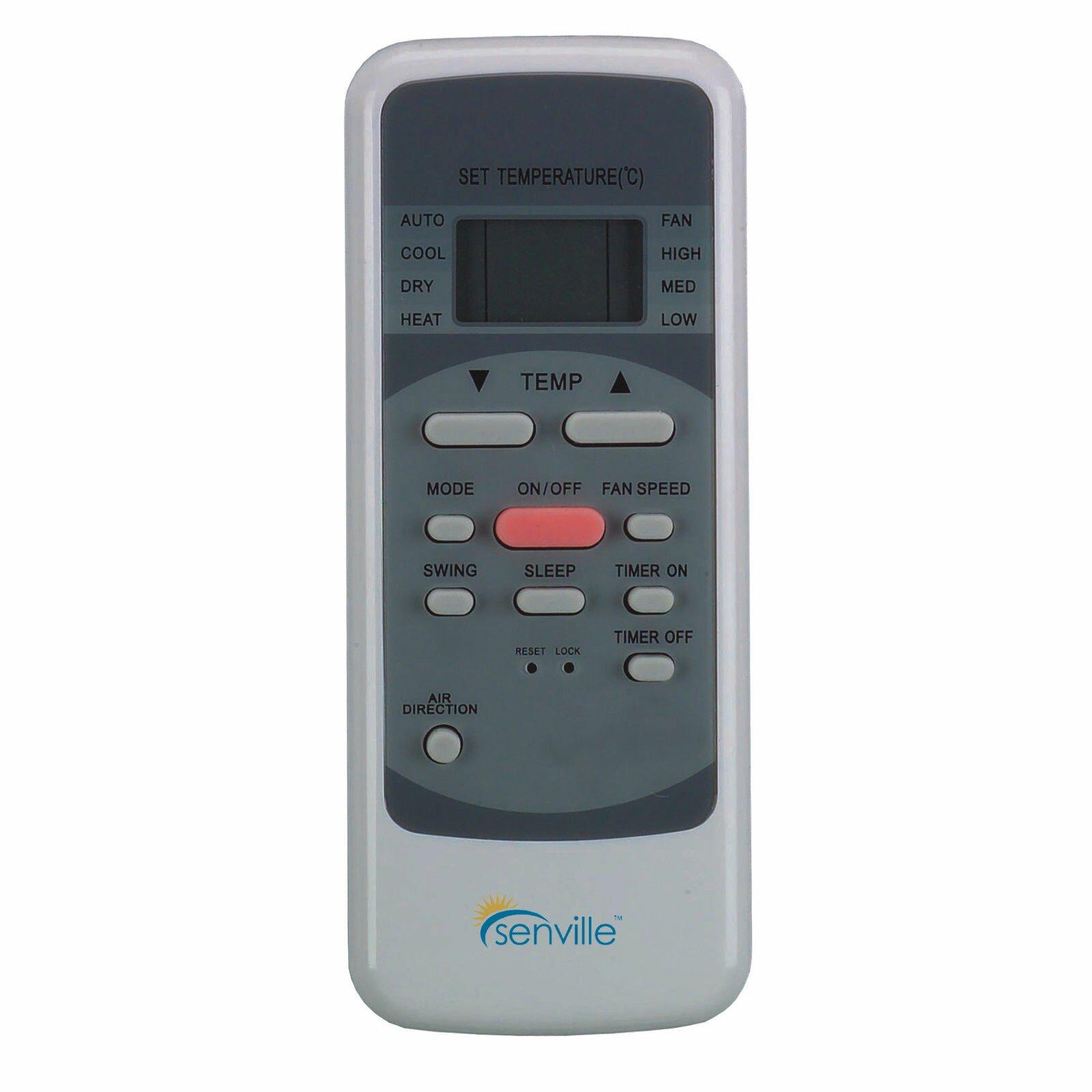 Leto 18000 BTU Air Conditioner with Remote & Reviews Wayfair #933B38