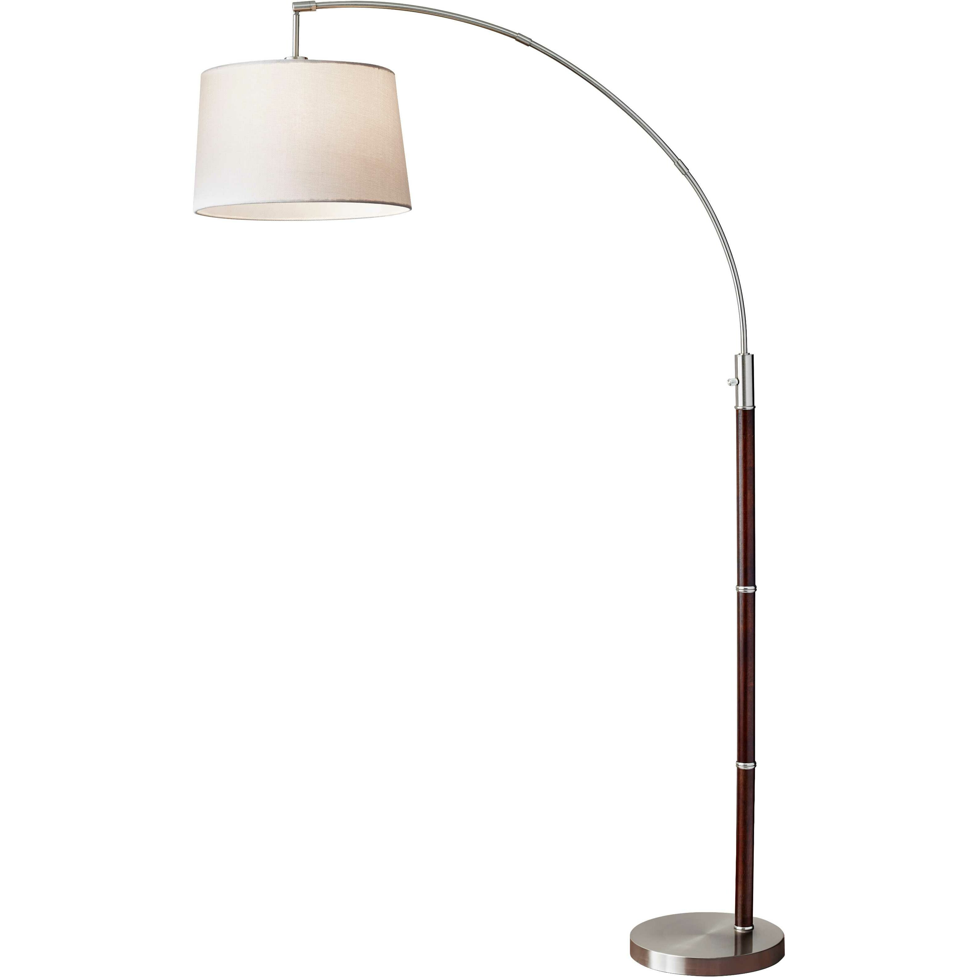 Wildon home alison 80 5 arched floor lamp reviews for Arch floor lamps for living room
