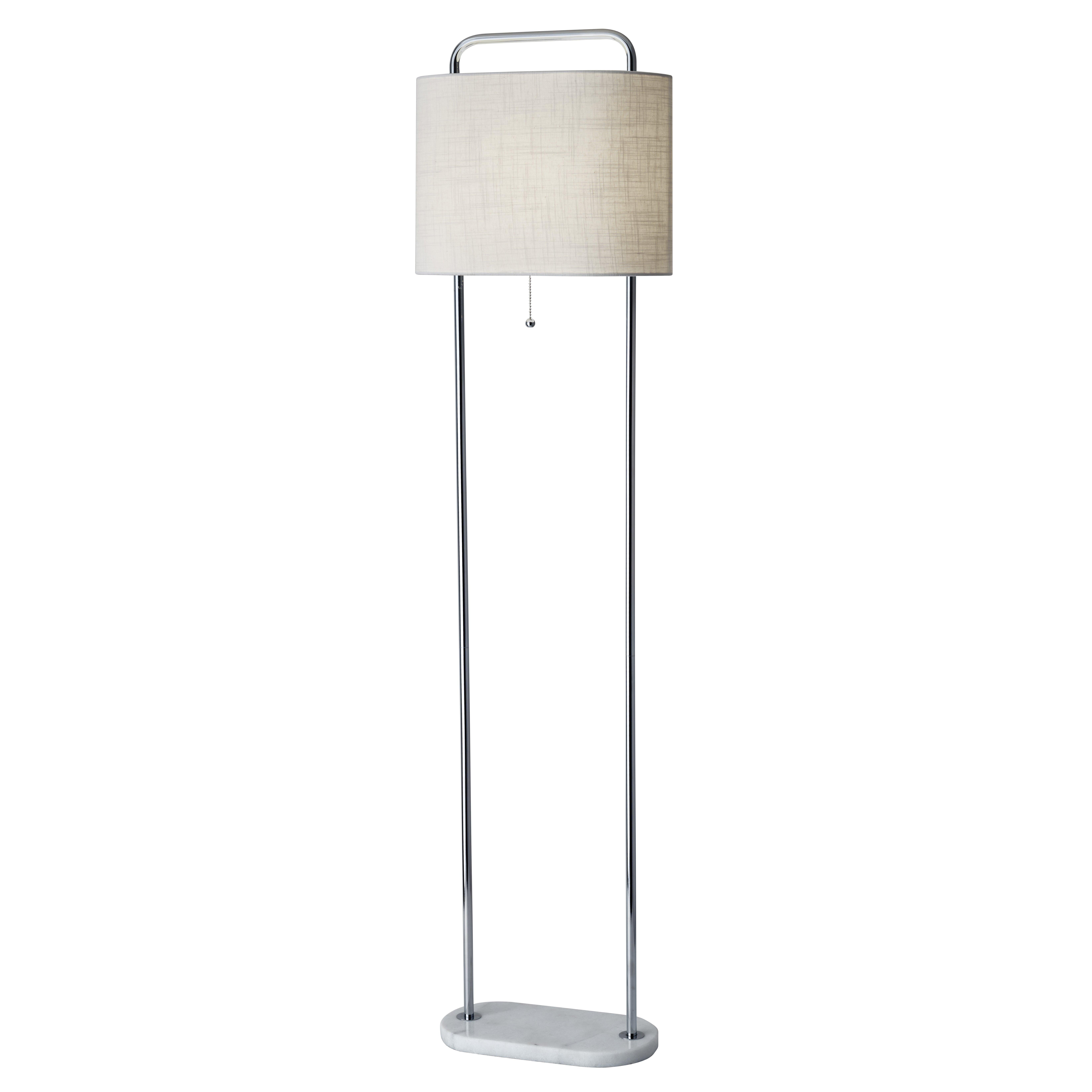 Adesso avery 625quot floor lamp wayfair for Wayfair adesso floor lamp