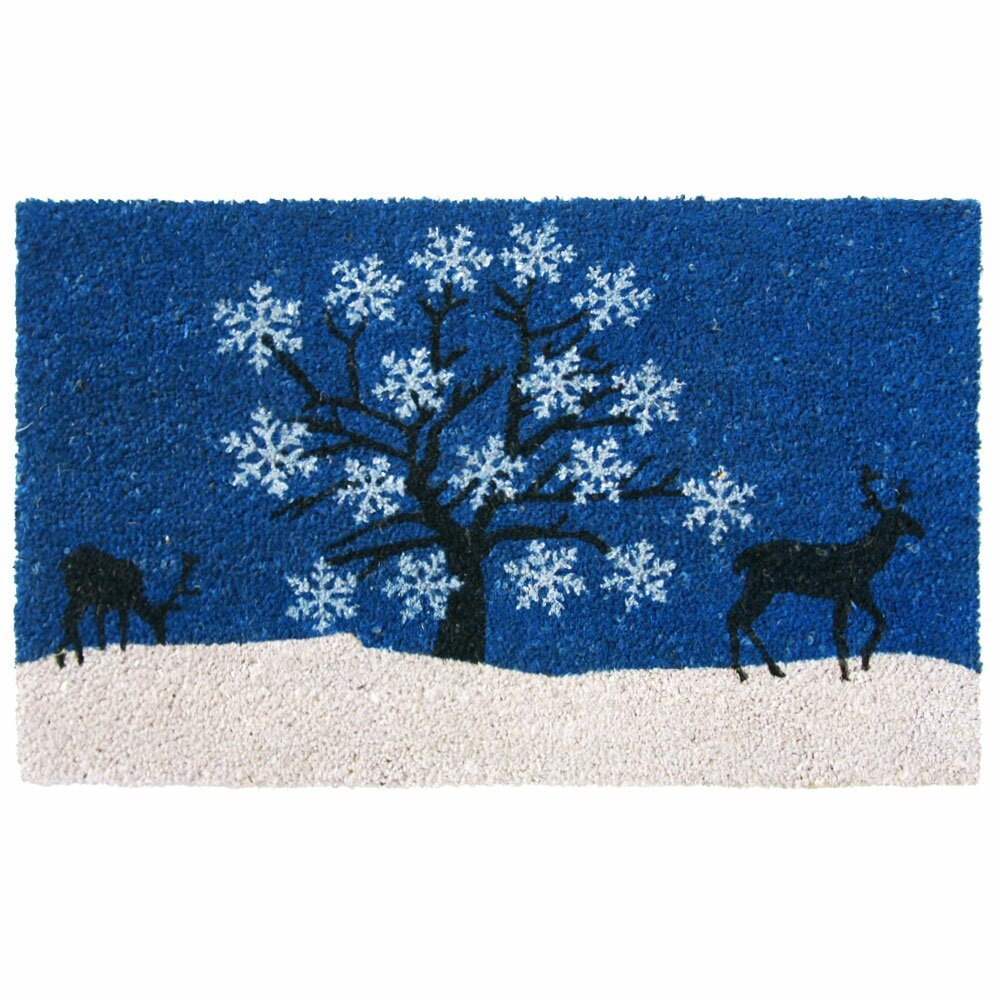 Sky Winter Doormat