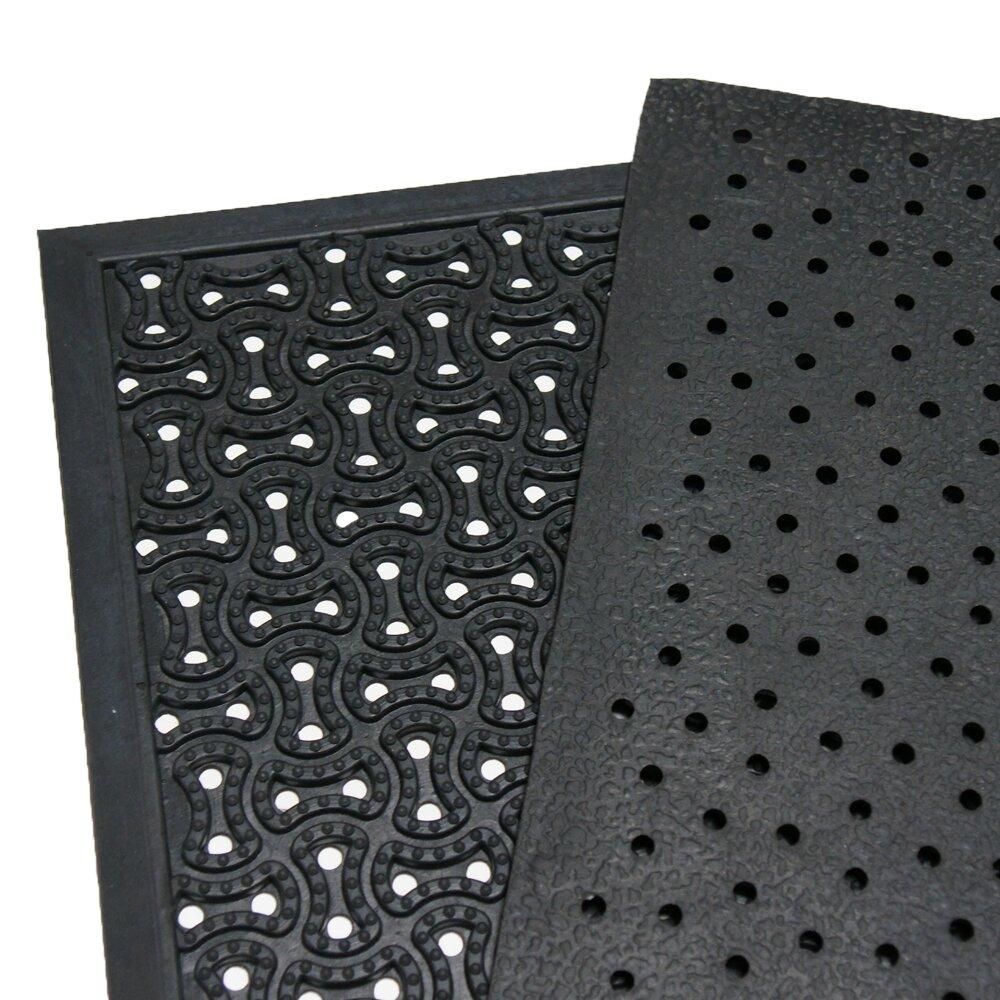 Rubber Cal Inc Dura Scraper Drainage Commercial Doormat