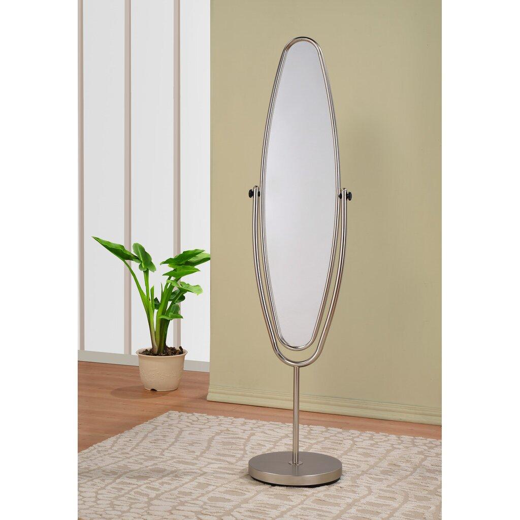 Worldwide homefurnishings swivel floor mirror reviews for Glass floor mirror