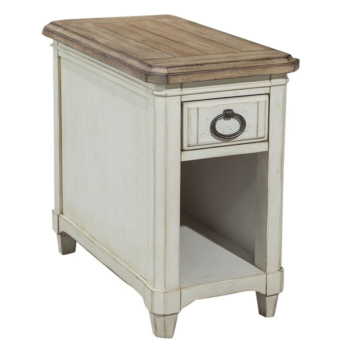 schaefferamericanhome hannes side table wayfair uk. Black Bedroom Furniture Sets. Home Design Ideas