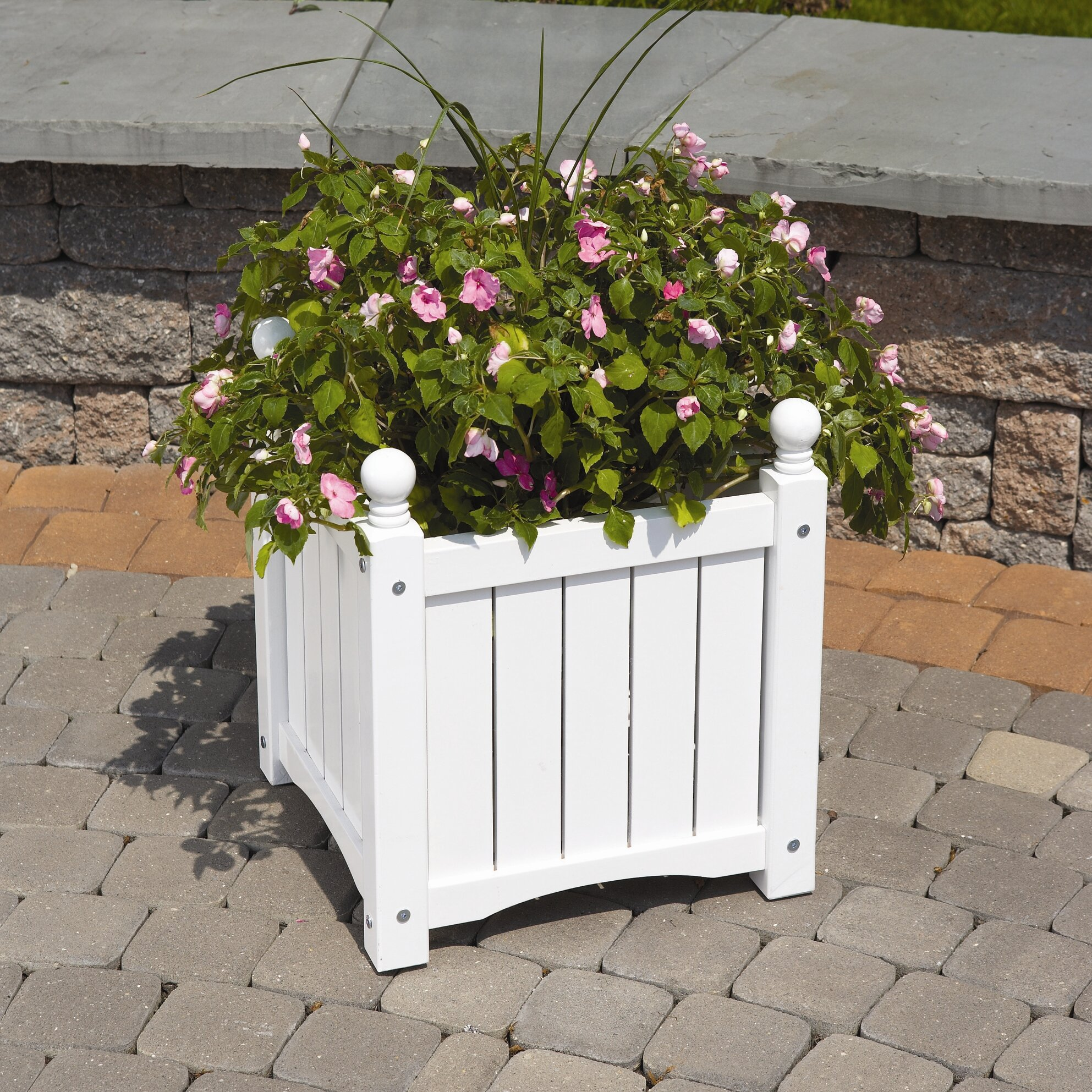 Dmc Lexington Square Planter Box Amp Reviews Wayfair