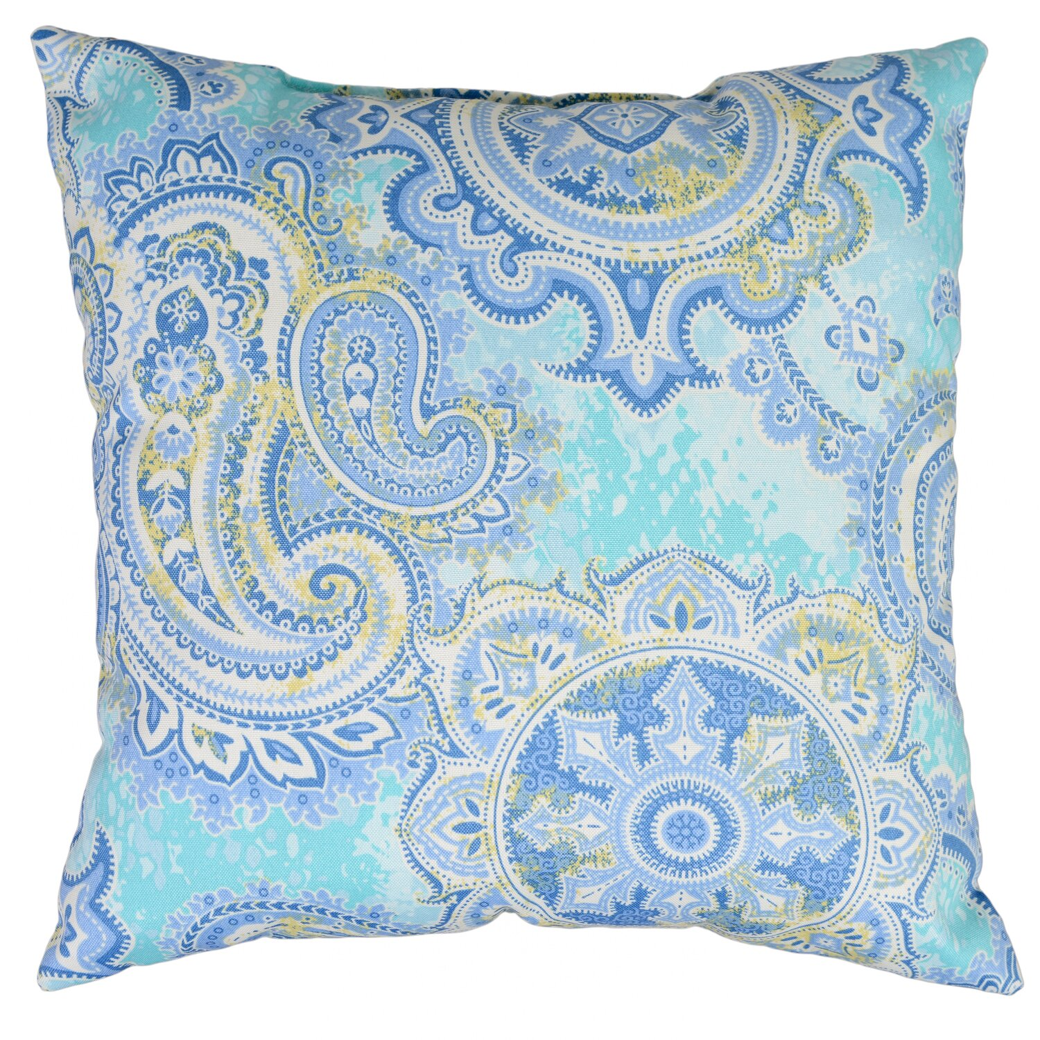 Wayfair Blue Decorative Pillows : Swan Dye and Printing Houssie Throw Pillow & Reviews Wayfair.ca