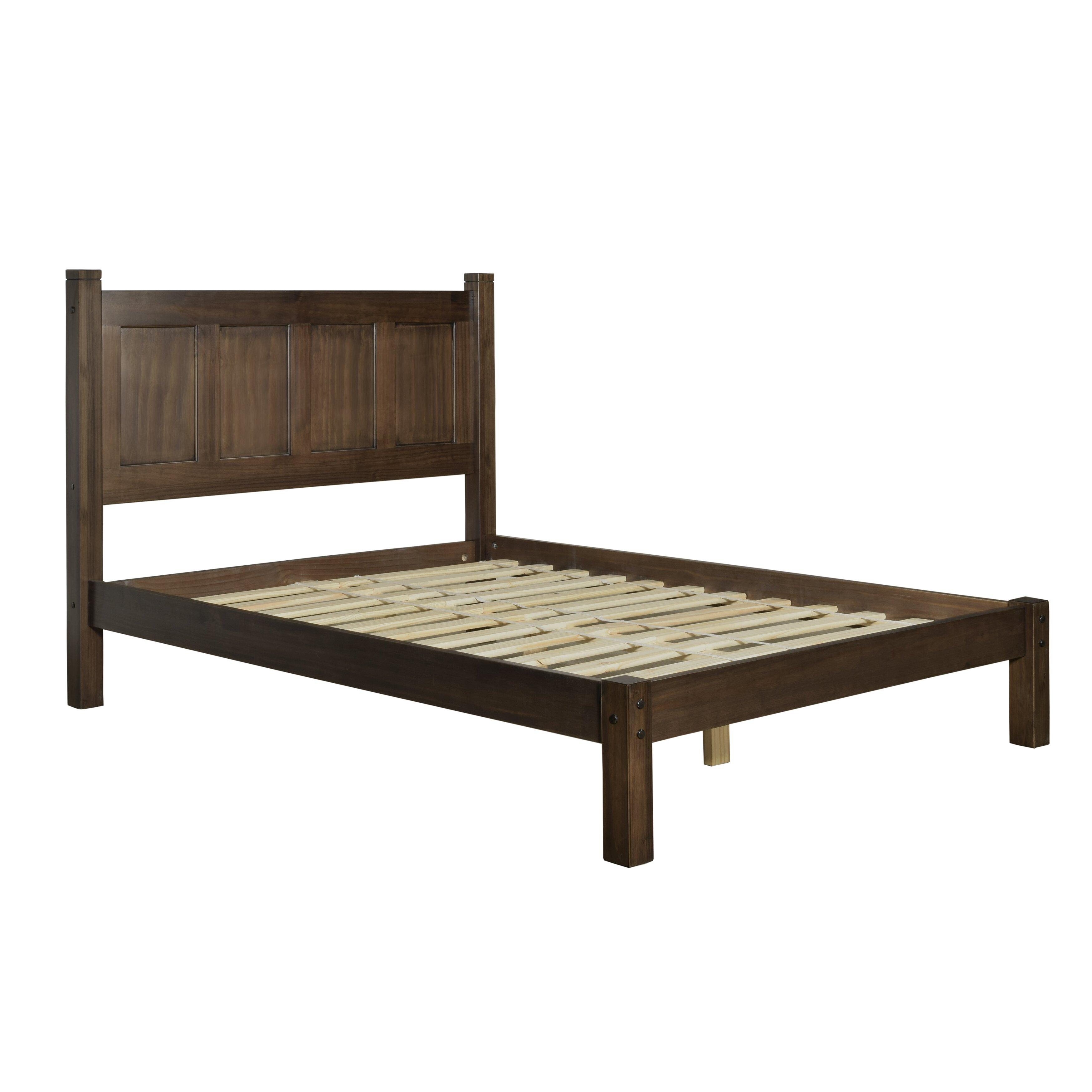 Grain Wood Furniture Shaker Platform Bed Reviews Wayfair