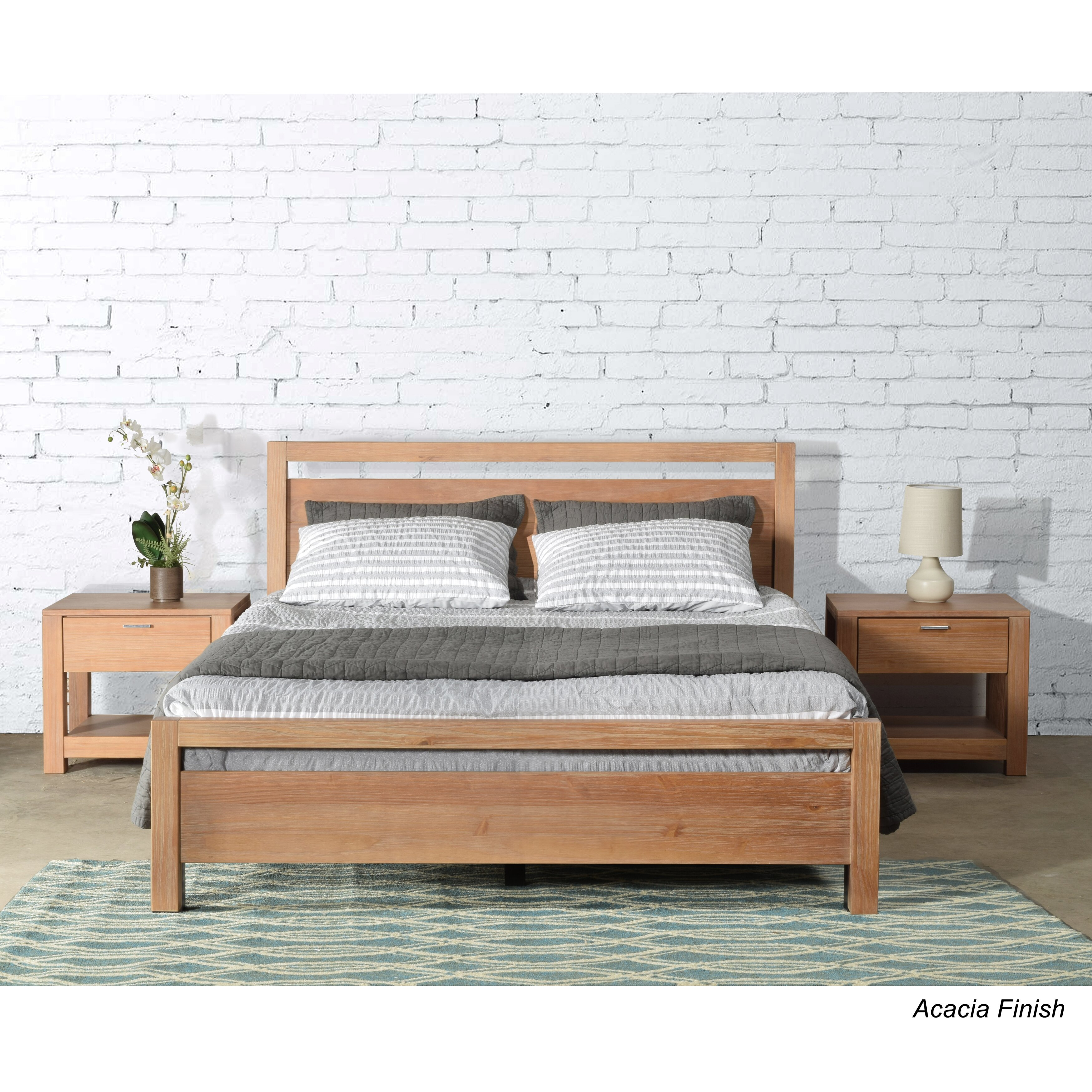 Grain Wood Furniture Loft Queen Platform Bed Amp Reviews