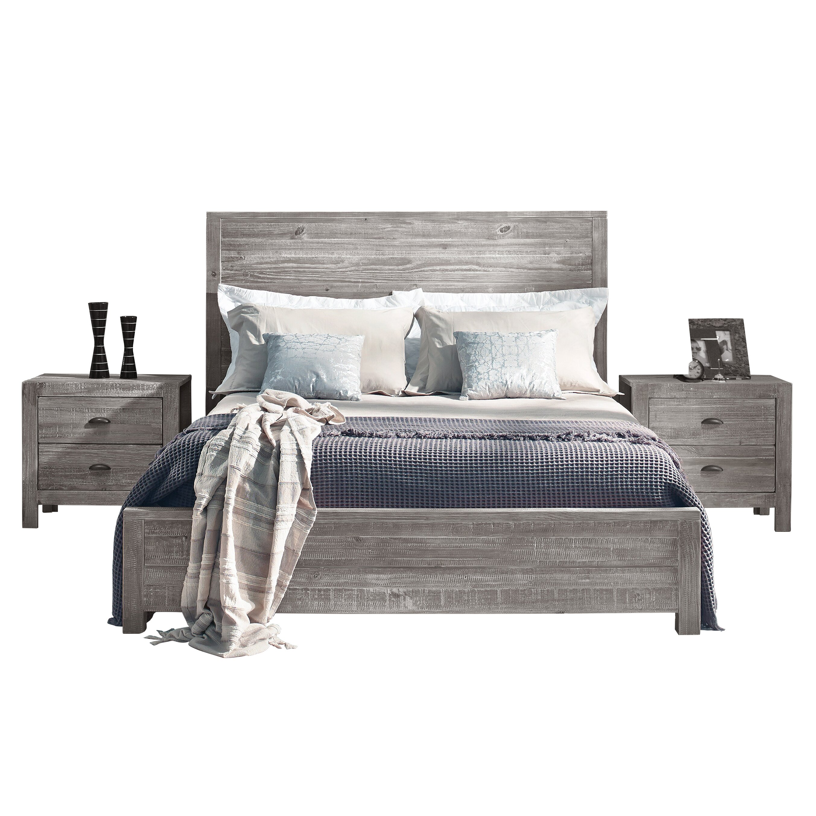 Montauk Panel Bed By Grain Wood Furniture King