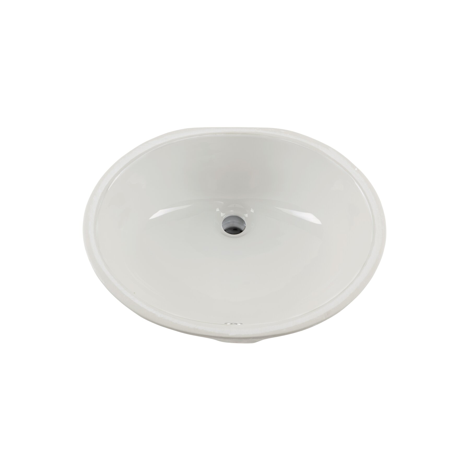 Soleil Glazed Porcelain Bathroom Undermount Sink Reviews Wayfair