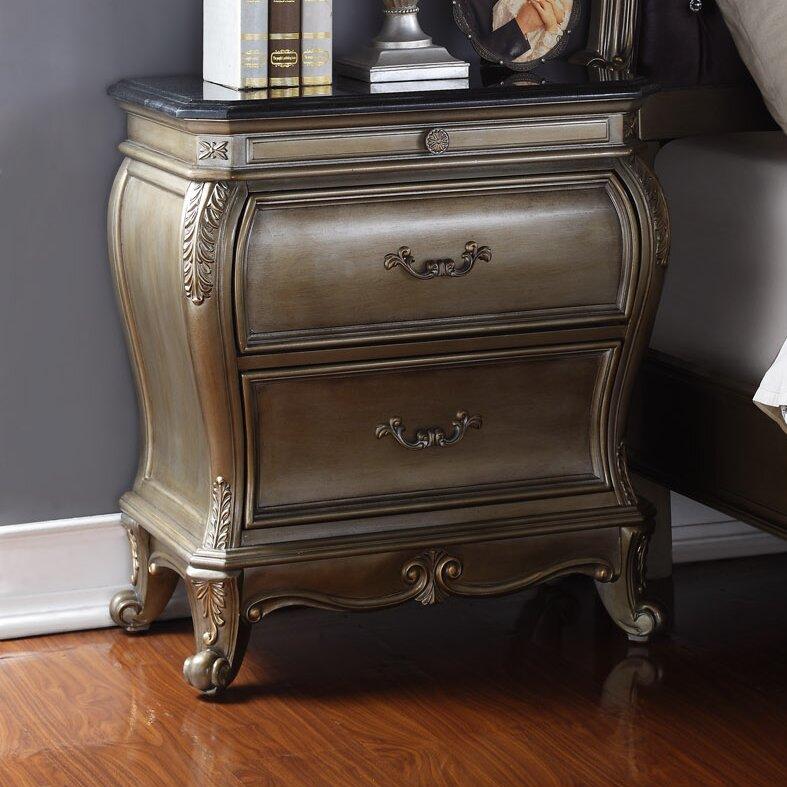 Meridian Furniture Usa Roma 2 Drawer Nightstand Reviews