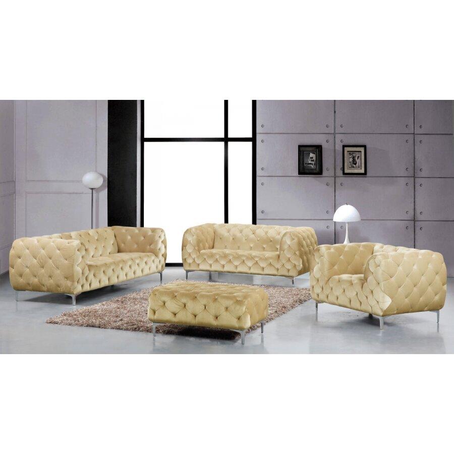 Meridian Furniture Usa Mercer Living Room Collection