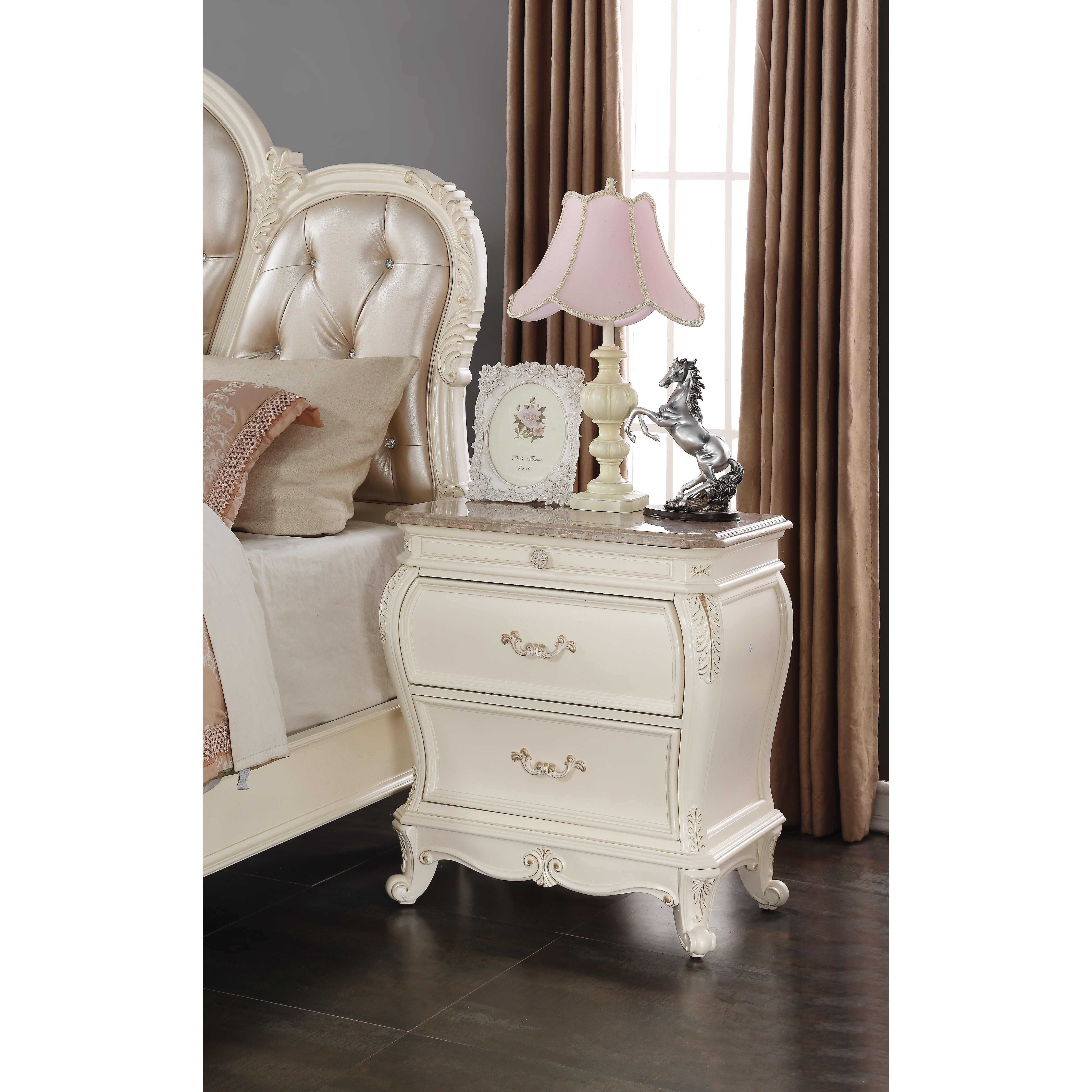 Meridian Furniture Usa Marquee 2 Drawer Nightstand Reviews