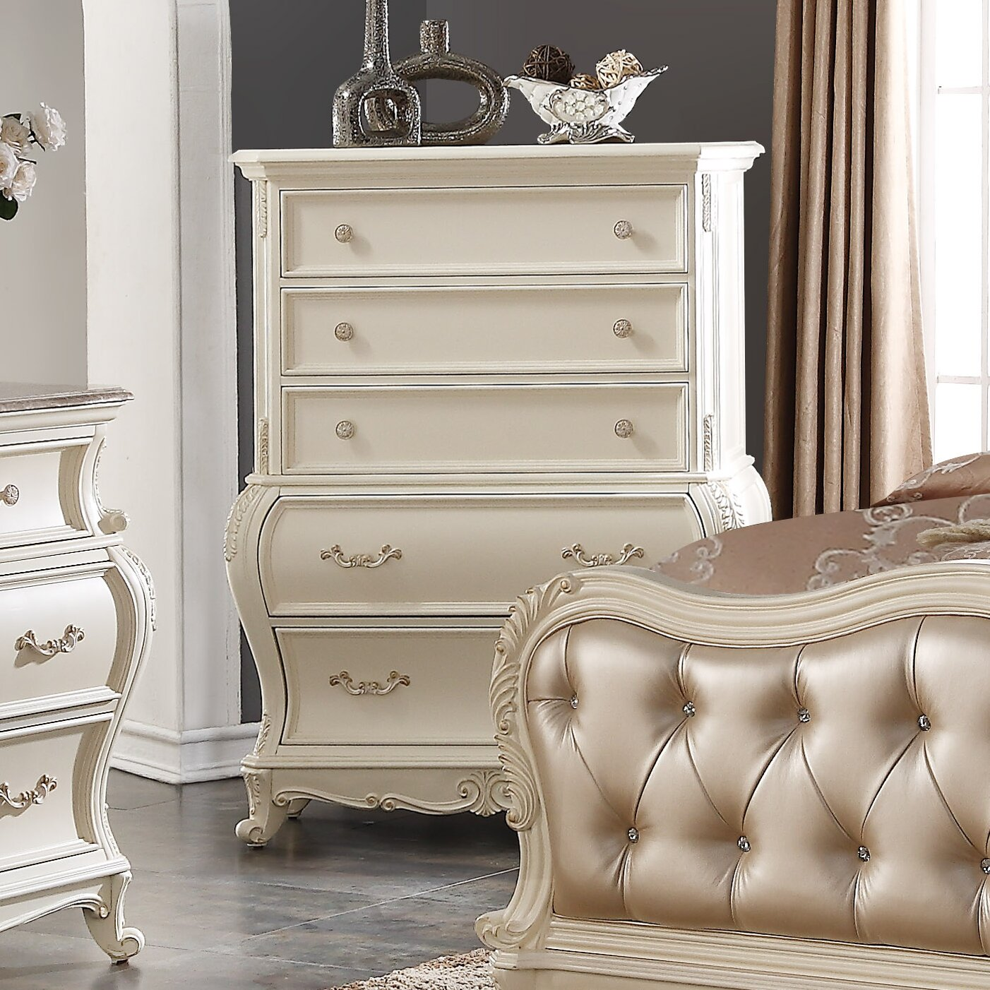 Meridian Furniture Usa Marquee Panel Customizable Bedroom Set Reviews
