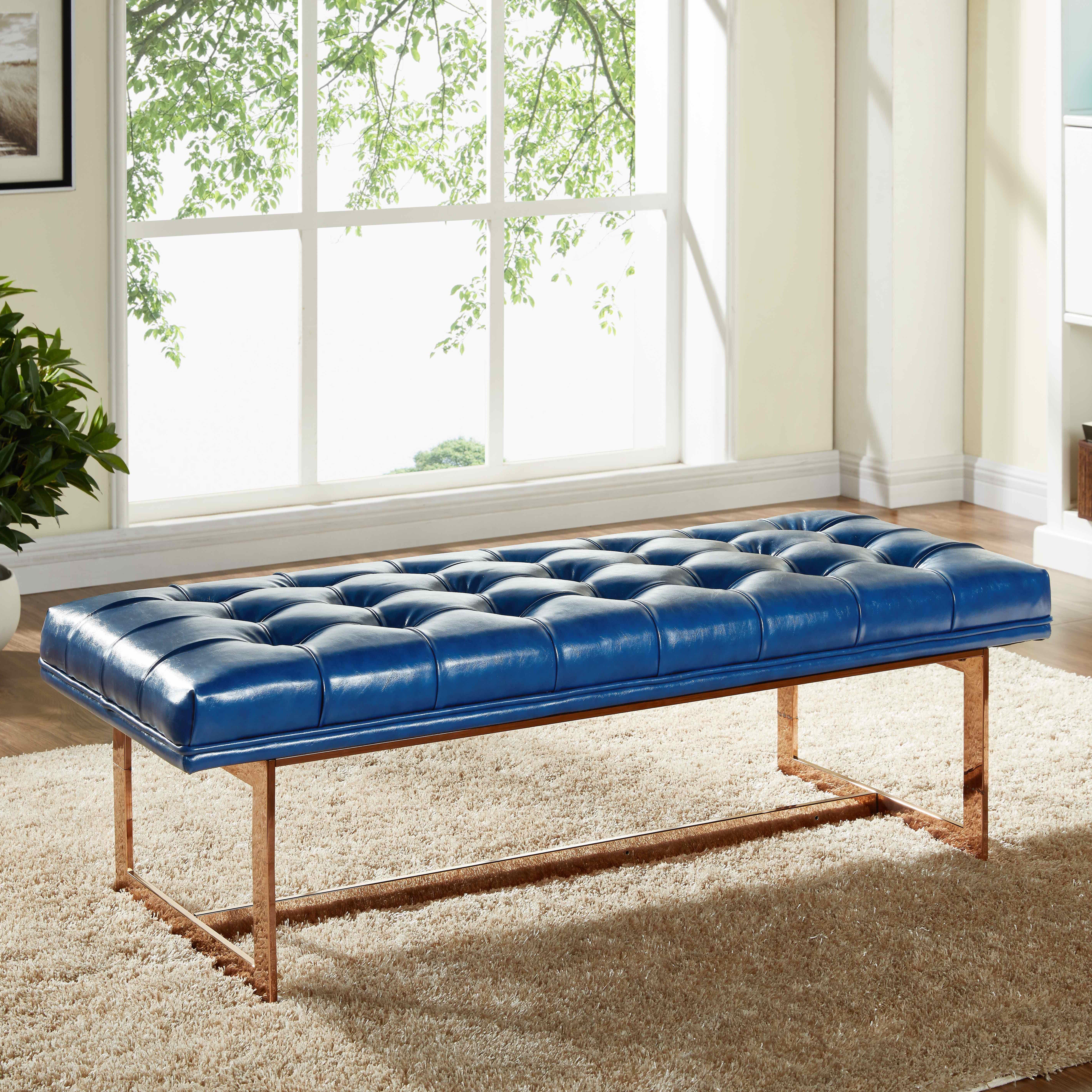 Meridian Furniture Usa Gavin Upholstered Bedroom Bench Wayfair