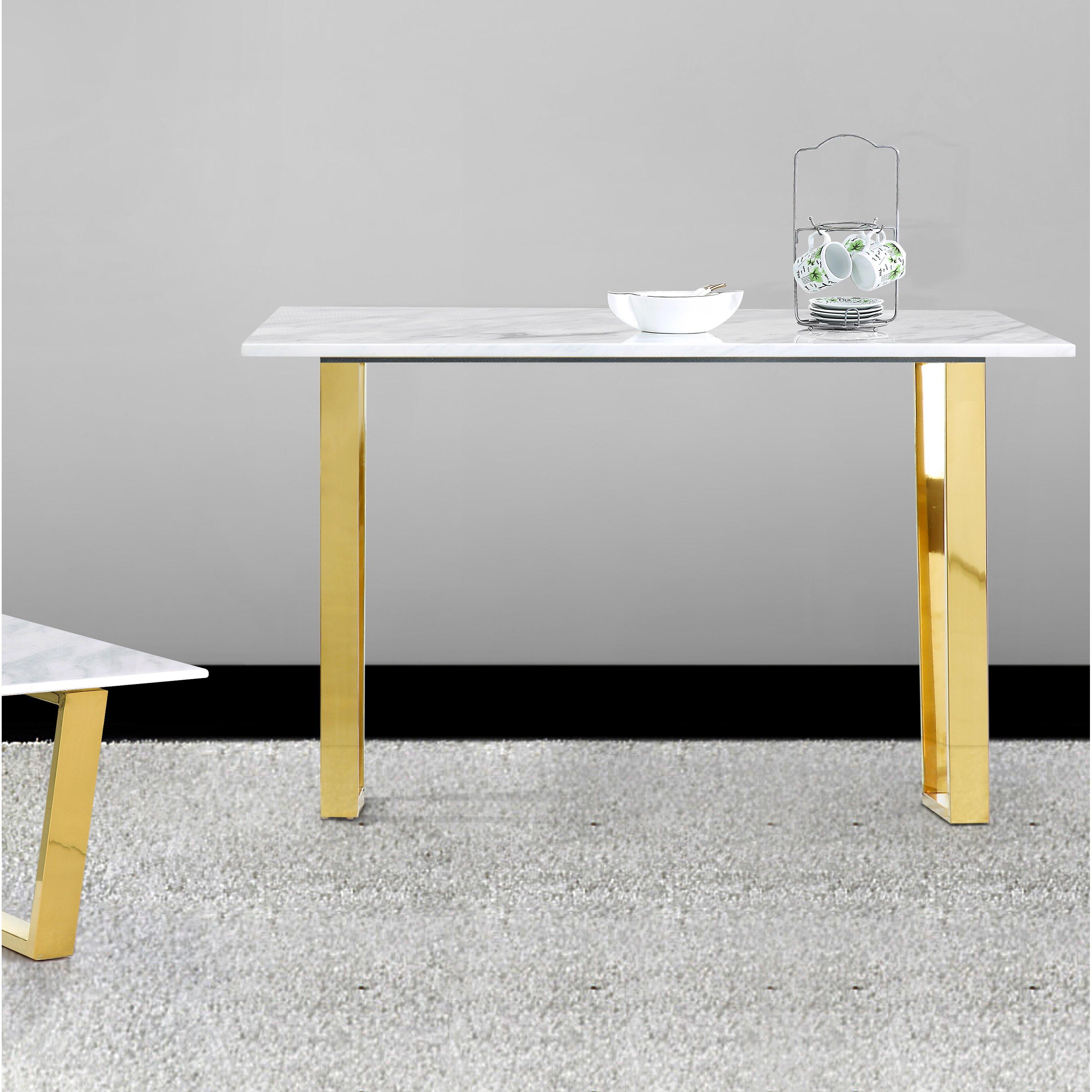 Meridian Furniture Usa Cameron Console Table Wayfair