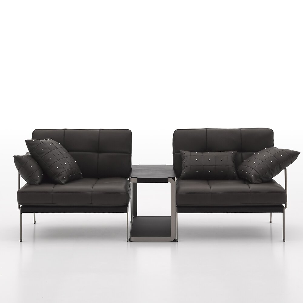Argo furniture catania 2 piece leather sofa set wayfair for 2 piece furniture set