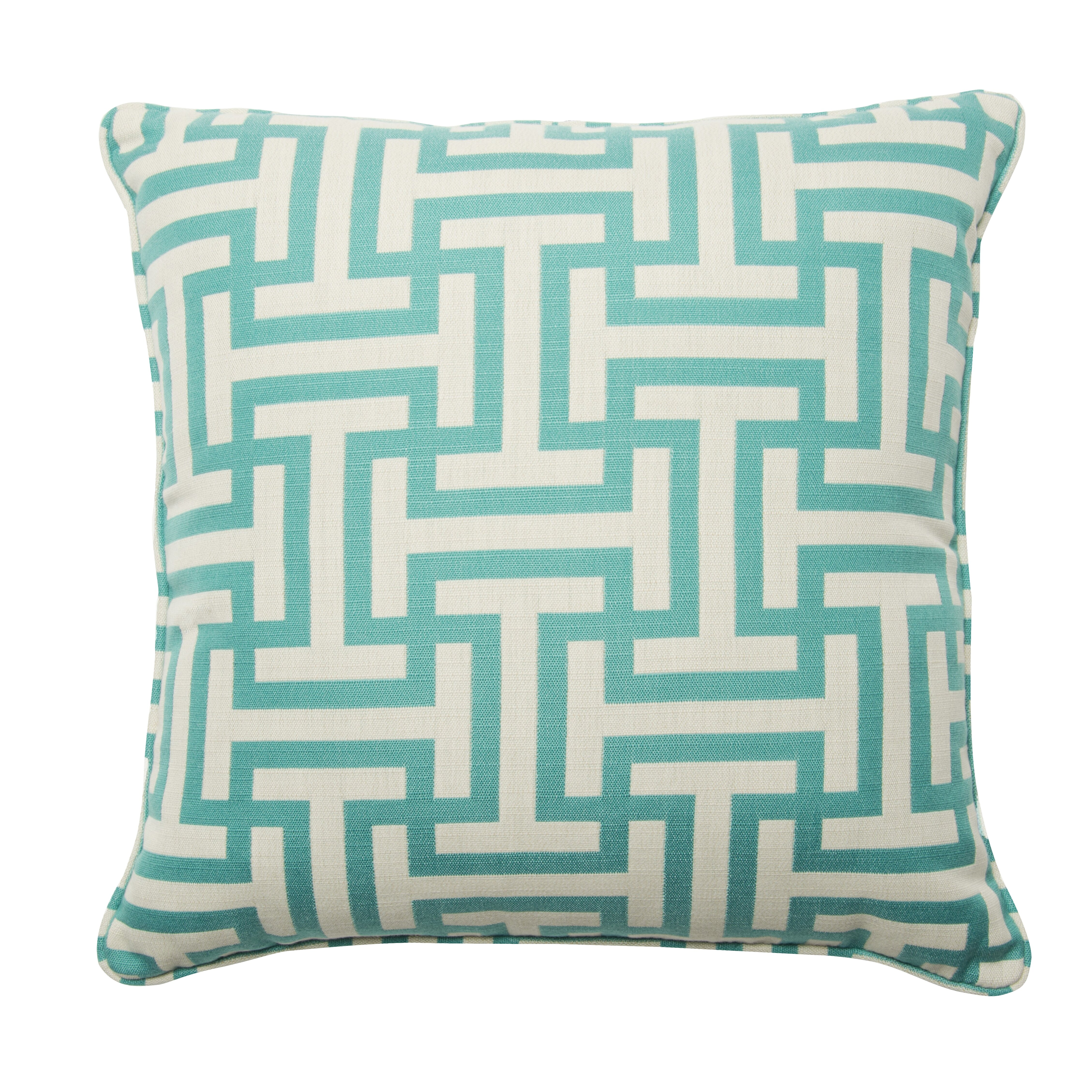 Throw Pillow Zipper : Easy Way Products Premium Single Piped Zippered Throw Pillow Wayfair