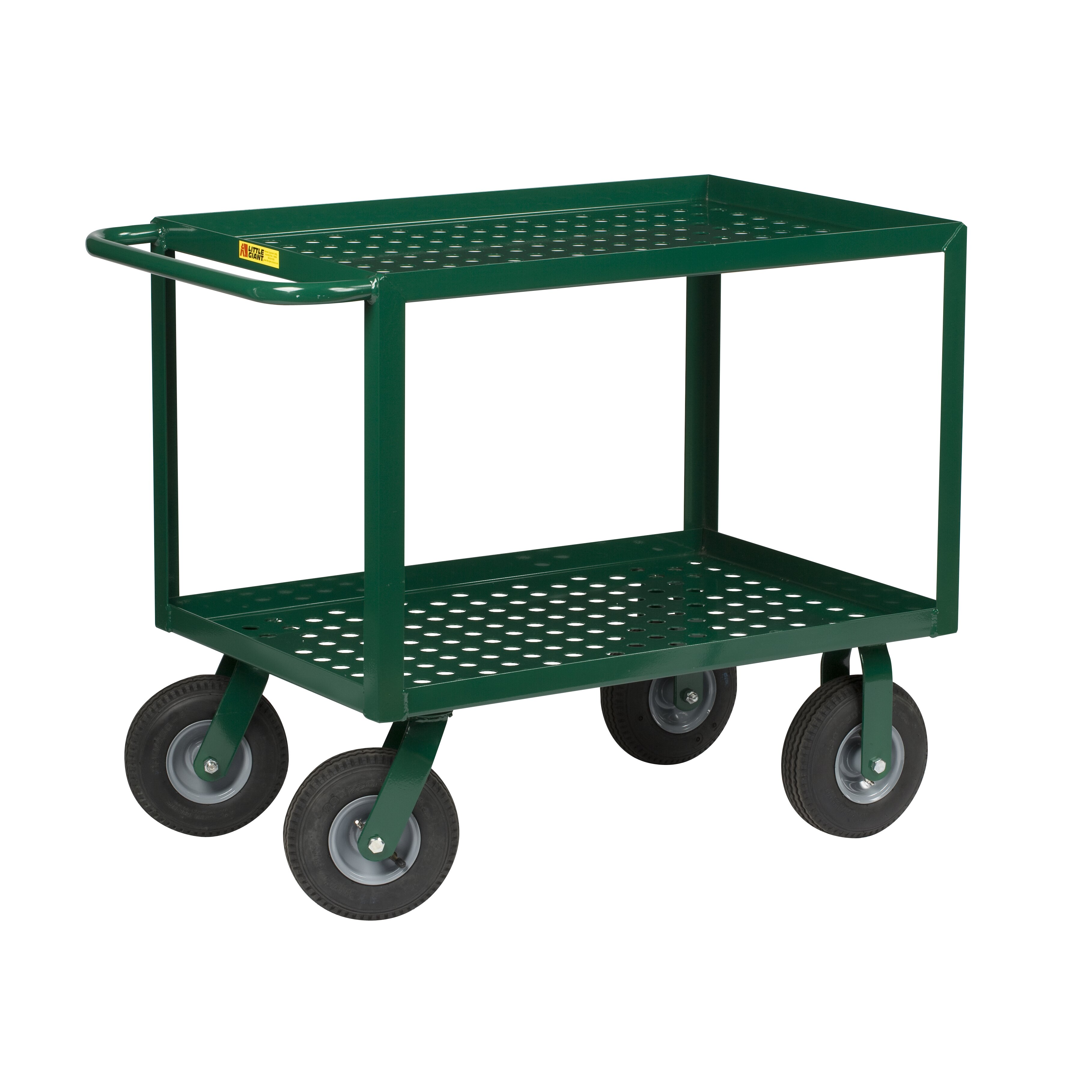 Little Giant Usa 41 5 Quot Perforated Deck Utility Cart With