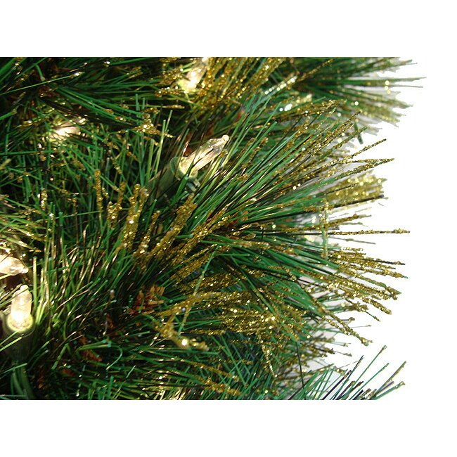 Christmas Tree Needles: Northlight 4.5' Tattinger Long Needle Pine Artificial