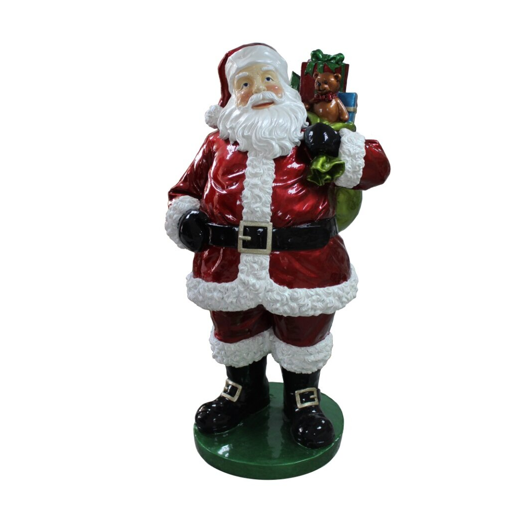 Commercial Grade Christmas Decorations: Northlight Commercial Grade Standing Santa Claus With