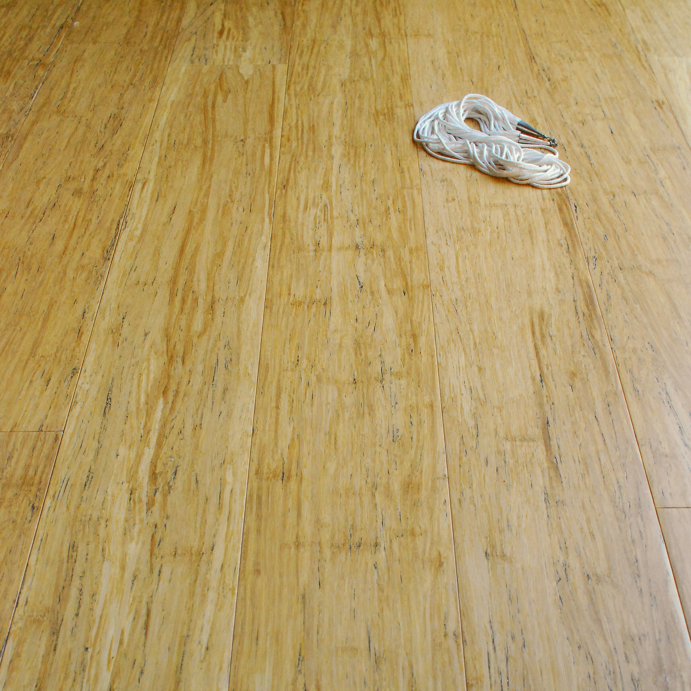"Engineered Strand Woven Bamboo Flooring: ECOfusion Flooring 4-3/4"" Engineered Strandwoven Bamboo"