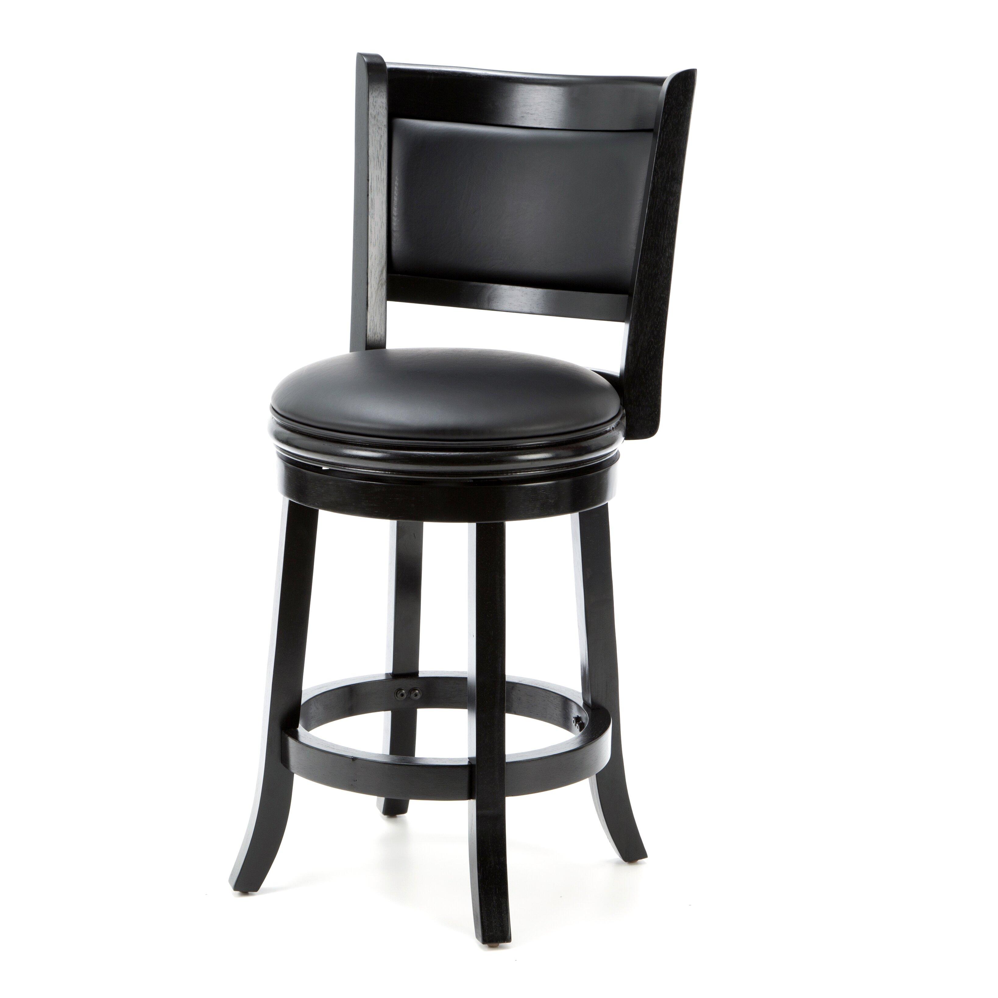 "Darby Home Co Orangeville 24"" Swivel Bar Stool & Reviews"