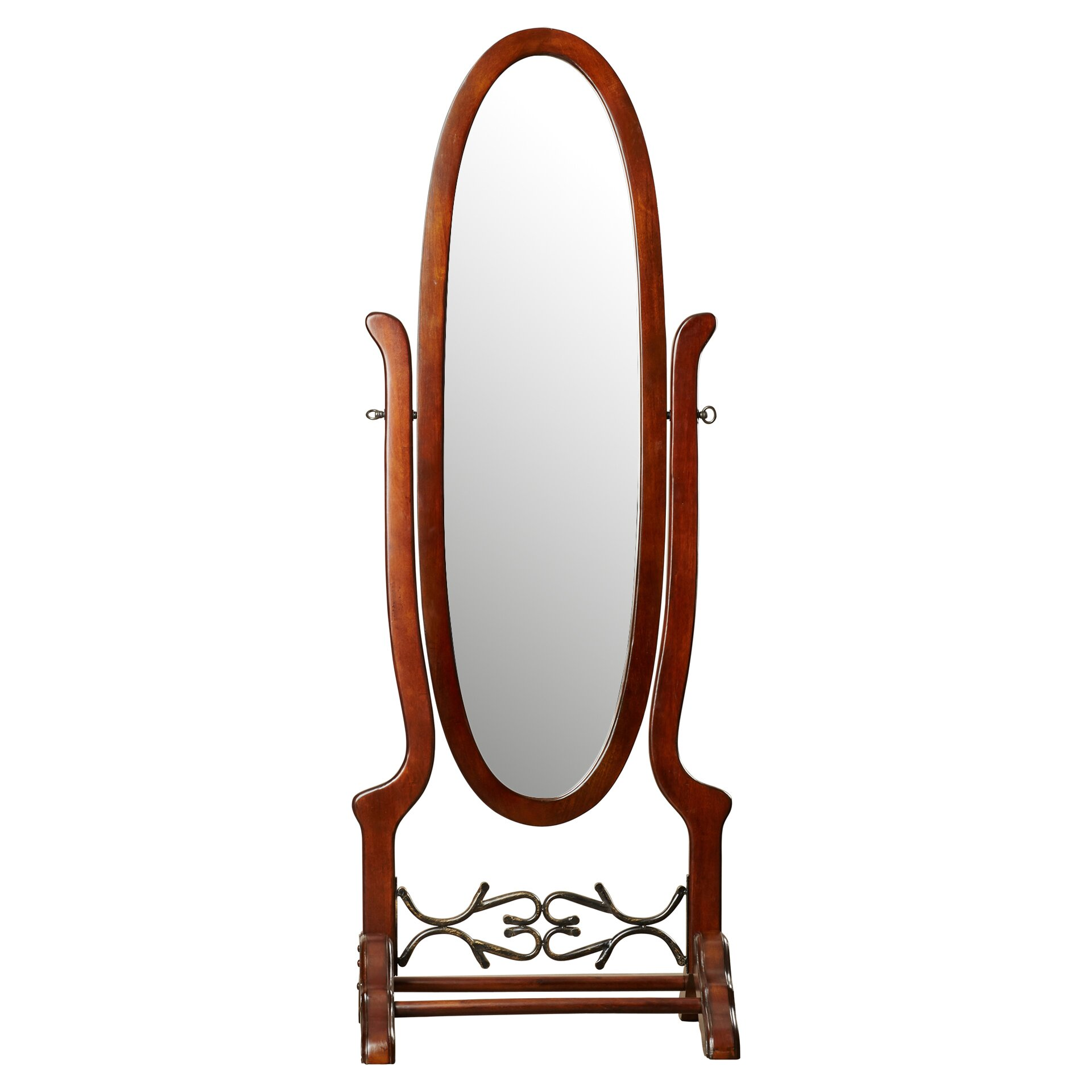 Darby home co frowseloure cheval mirror reviews for Cheval mirror