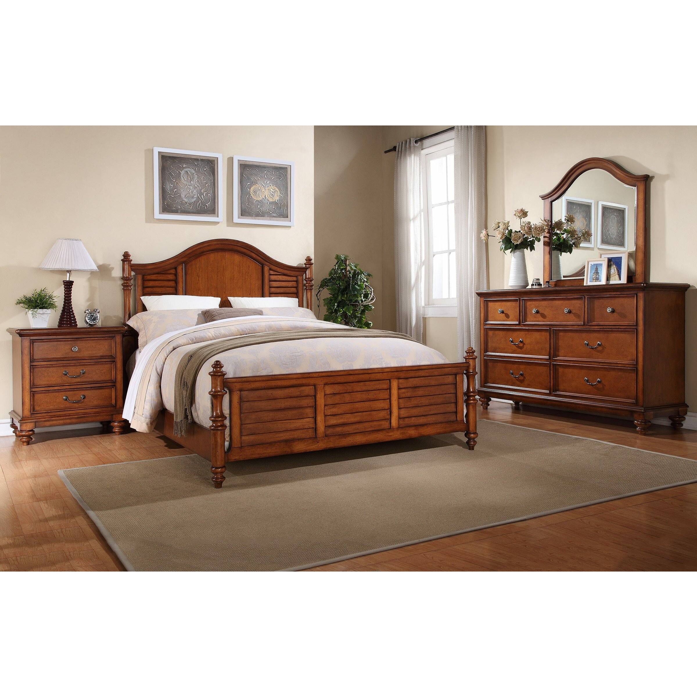 Darby Home Co Millbrook Panel Customizable Bedroom Set Reviews Wayfair