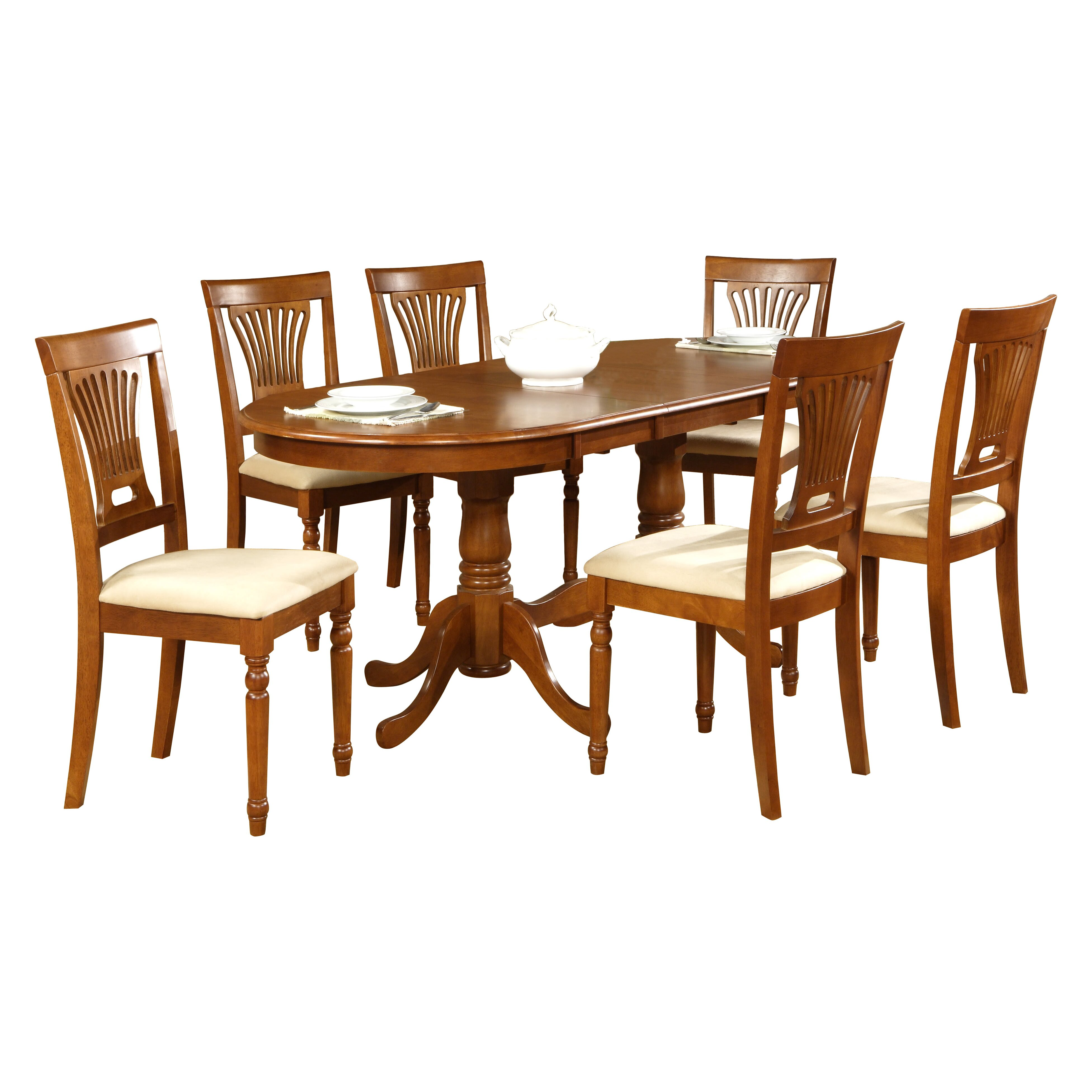 Darby home co germantown 7 piece dining set reviews for Home piece