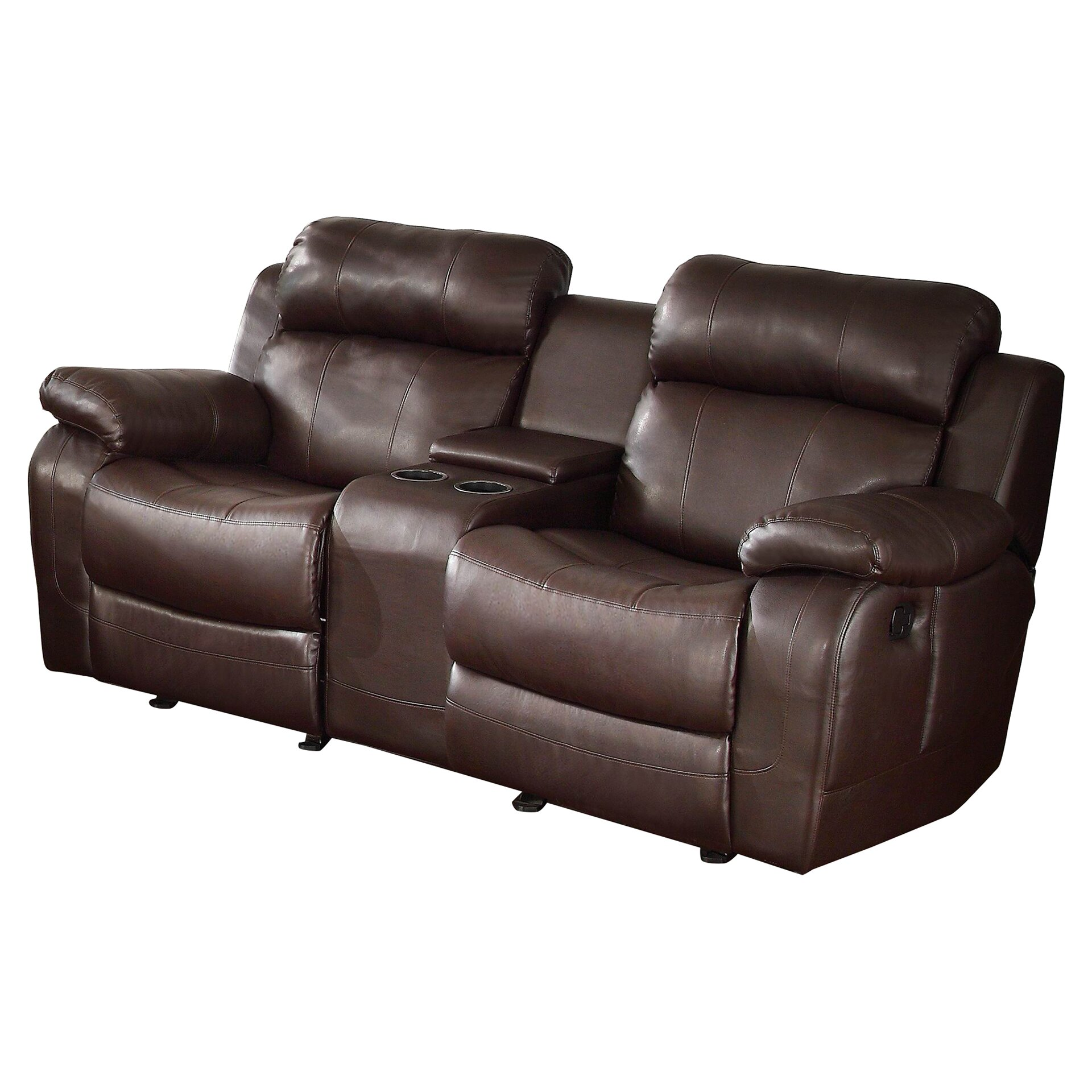 Darby Home Co Hall Glider Reclining Loveseat Reviews Wayfair
