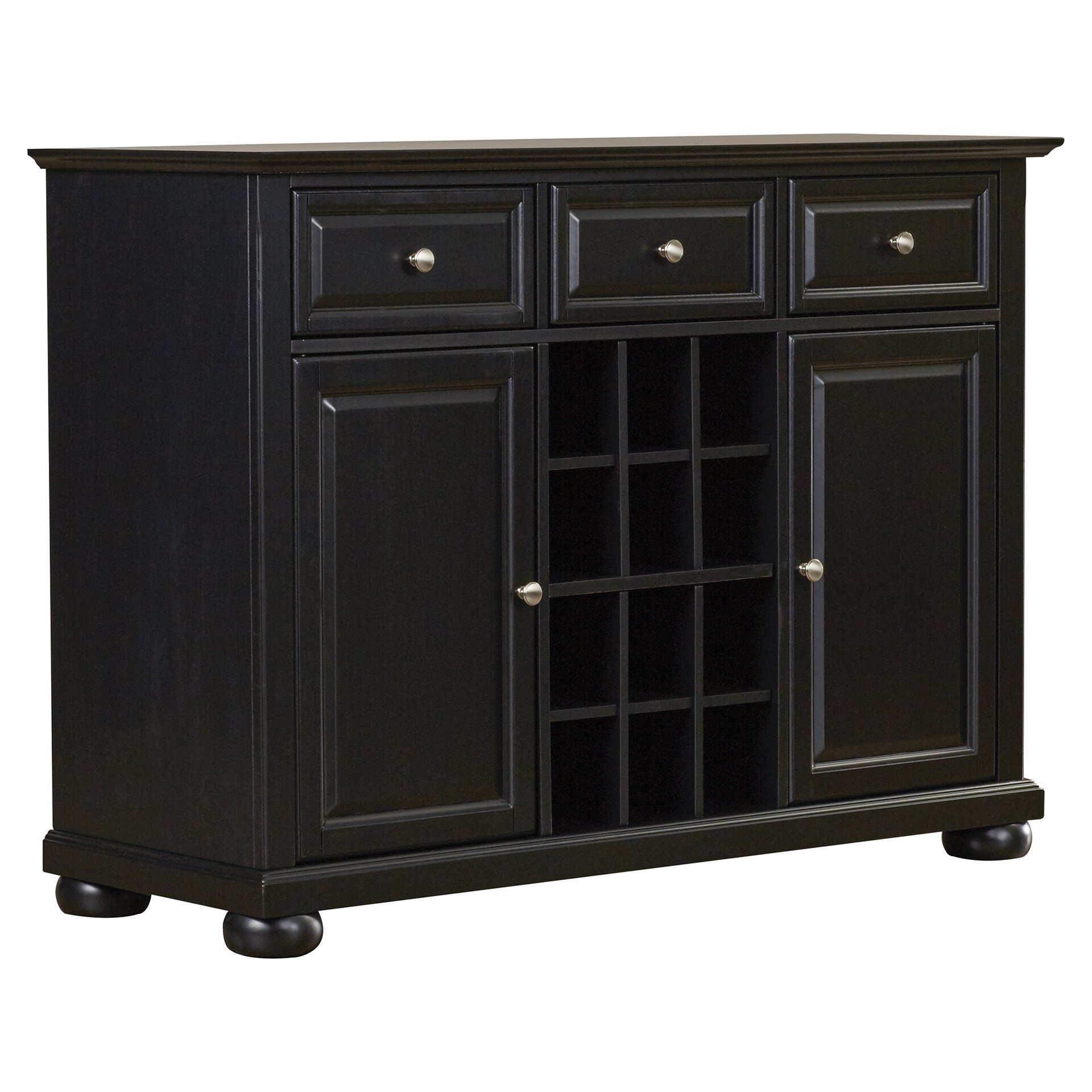 Darby Home Co Pottstown Buffet Server / Sideboard Cabinet with Wine Storage & Reviews | Wayfair