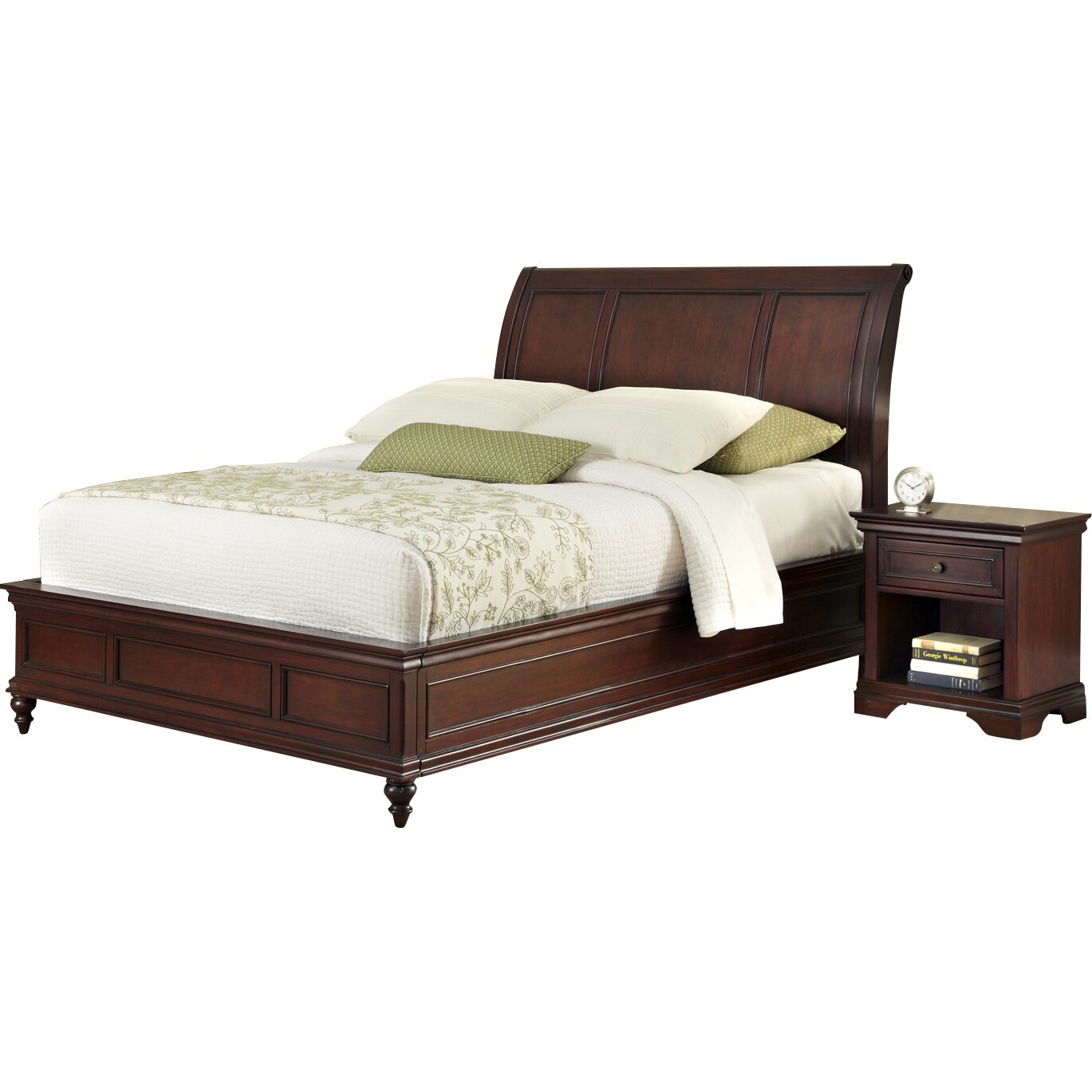 Darby home co linthicum platform 3 piece bedroom set for Bedroom 3 piece sets