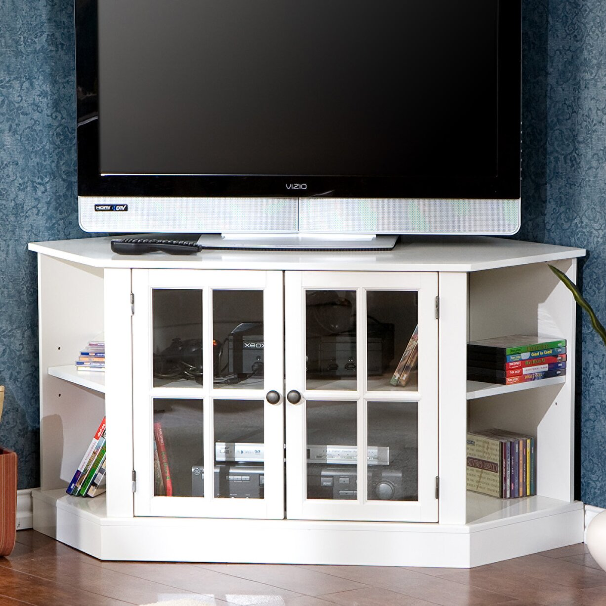 darby home co sommerville tv stand reviews wayfair. Black Bedroom Furniture Sets. Home Design Ideas