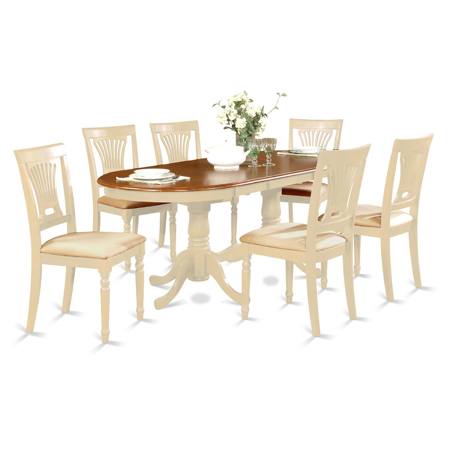 Darby home co germantown 7 piece dining set reviews for Furniture 7 credit reviews