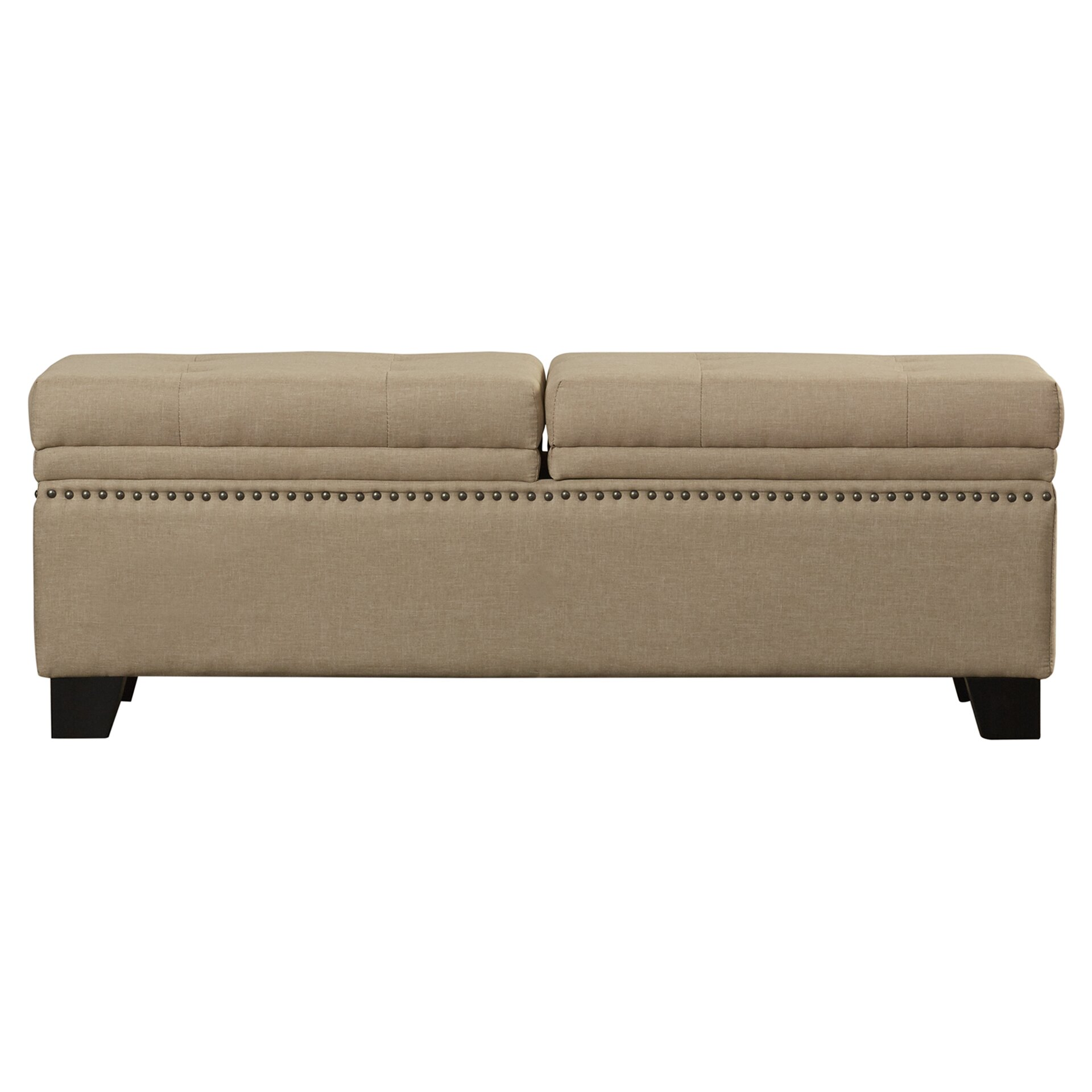 Darby Home Co Moffet Hinged Upholstered Storage Bedroom Bench Reviews Wayfair
